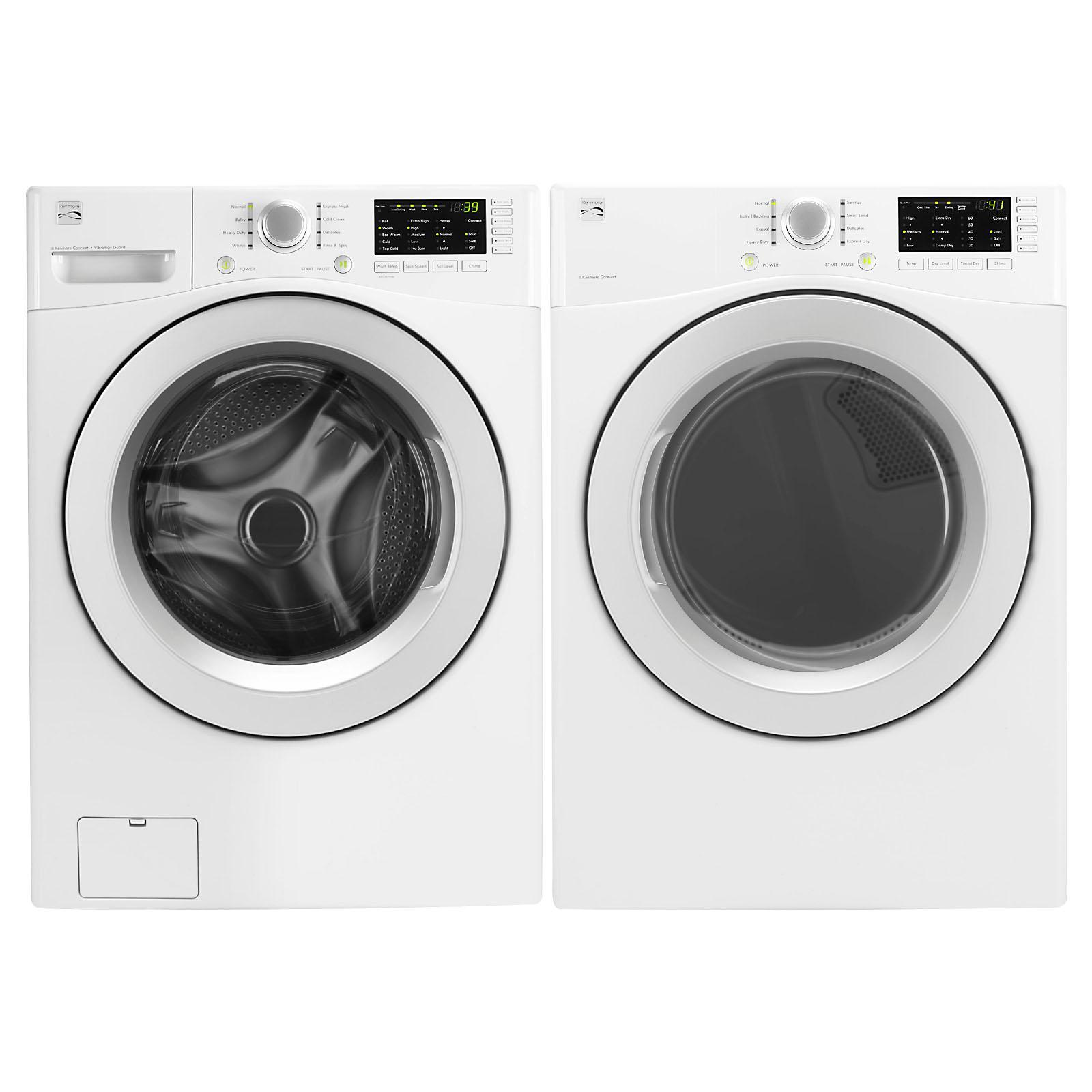 4.3 cu. ft. Front-Load Washer & 7.3 cu. ft. Dryer Bundle