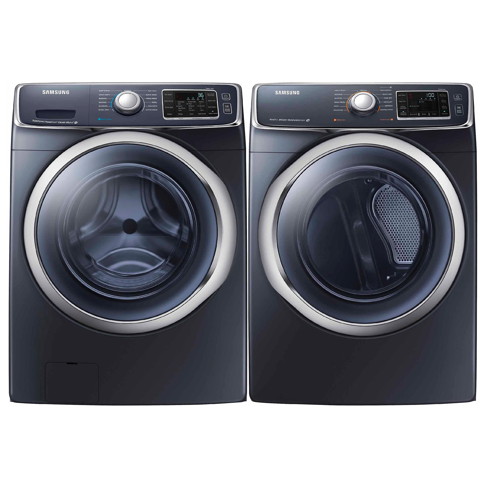 Samsung 4 5 Cu Ft Front Load Washer Onyx Wf45h6300ag
