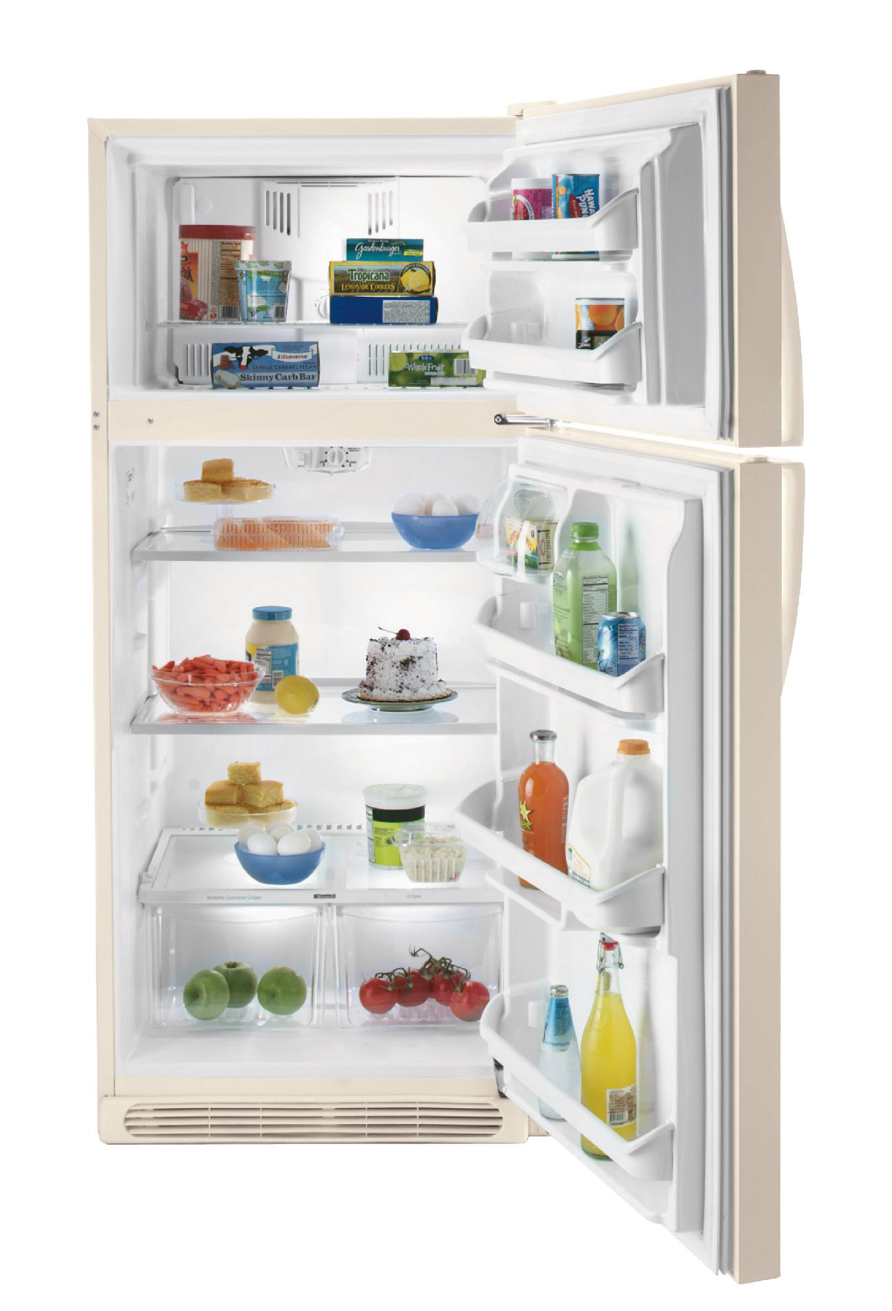 Kenmore 18.2 cu. ft. Top-Freezer Refrigerator, Bisque