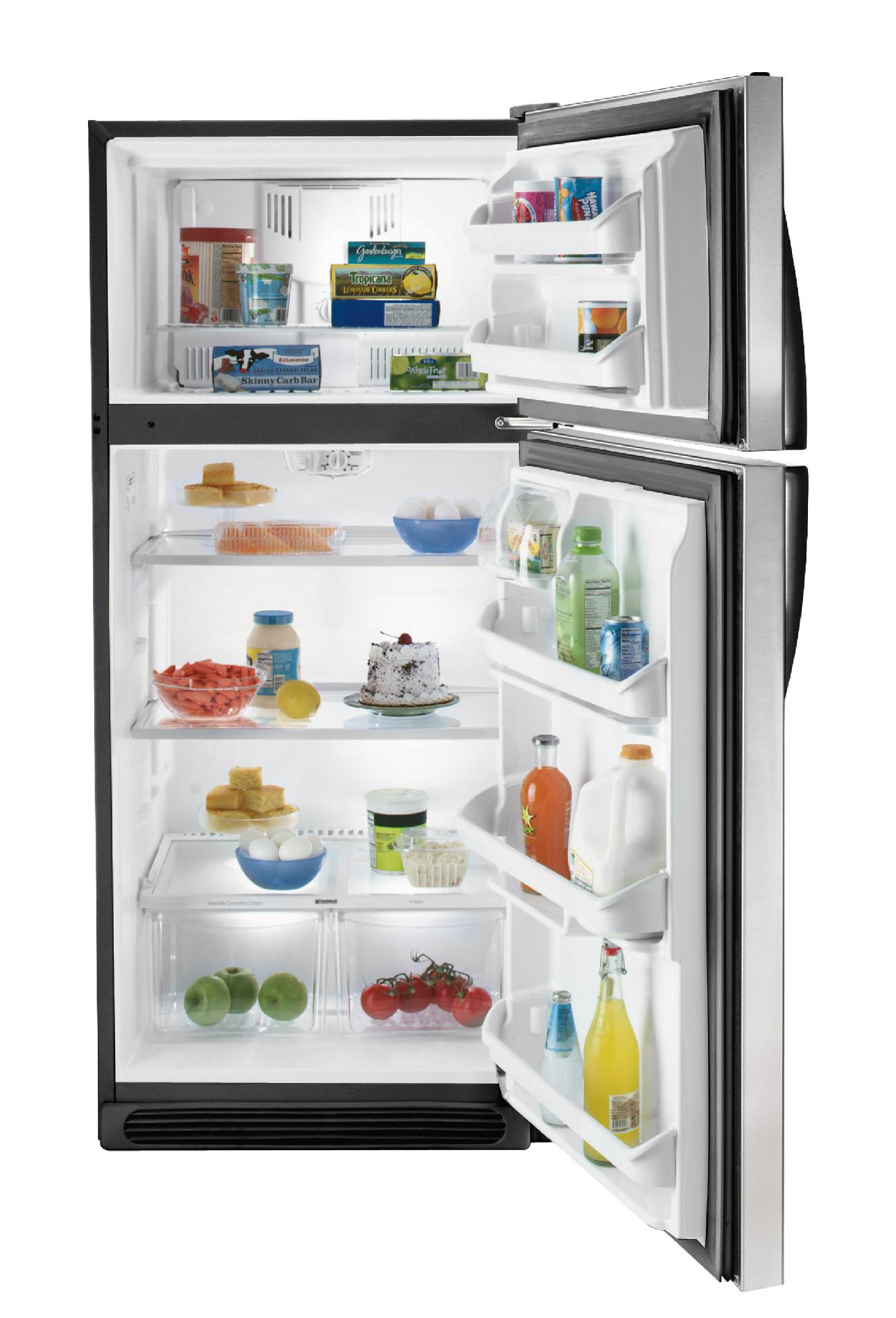 Kenmore 18.2 cu. ft. Top-Freezer Refrigerator - Stainless Steel