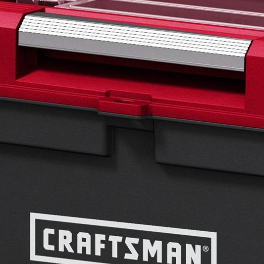 Craftsman 26 in Power Latch Tool Box