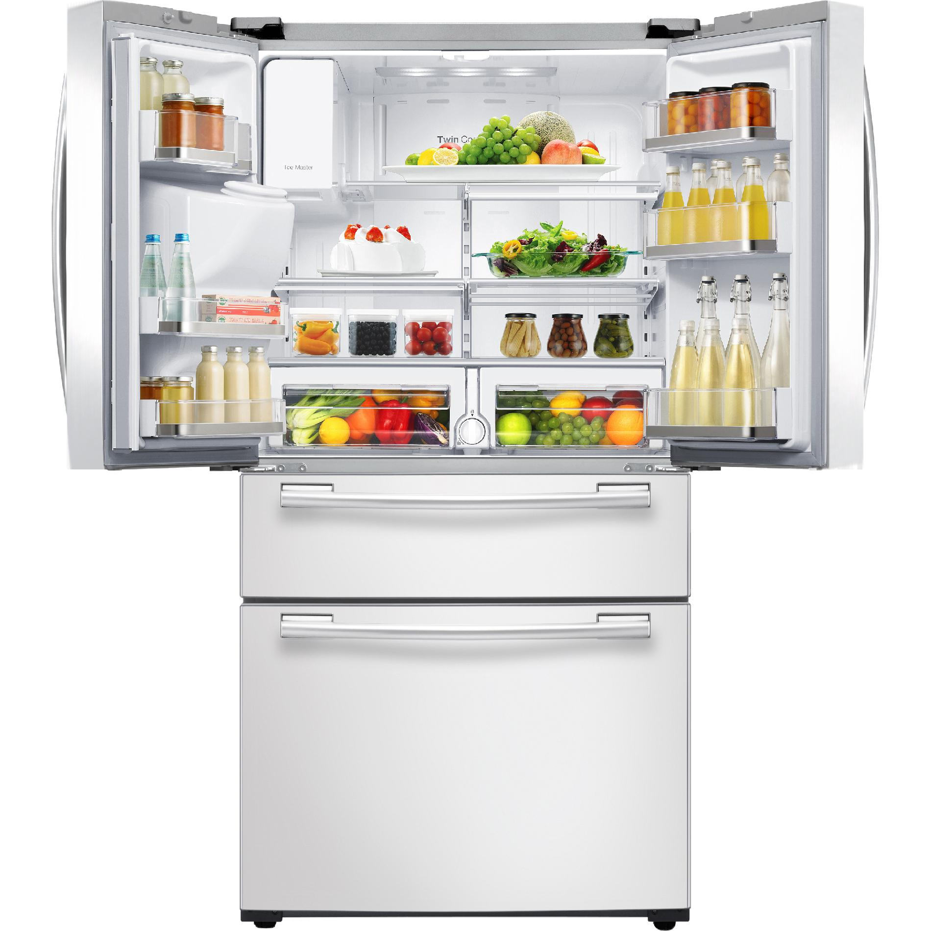 Samsung 25 cu. ft. 4-Door French Door Refrigerator - White