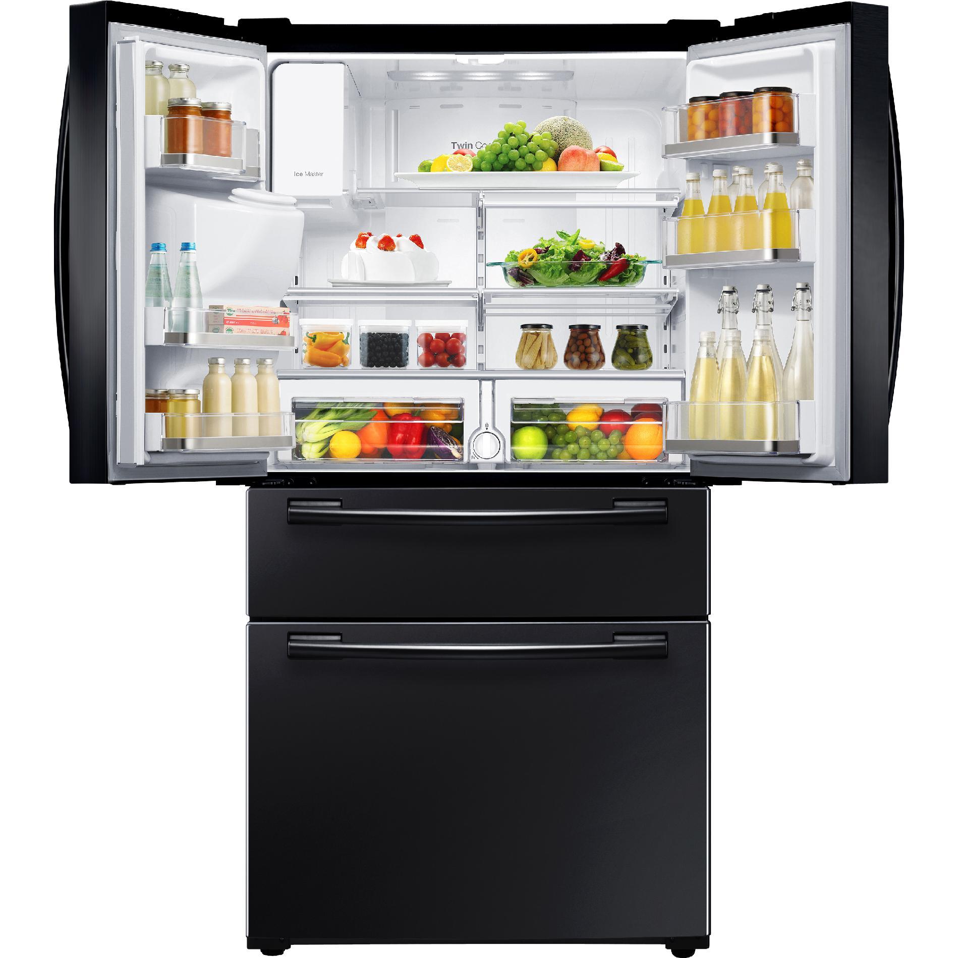 Samsung 25 cu. ft. 4-Door French Door Refrigerator - Black