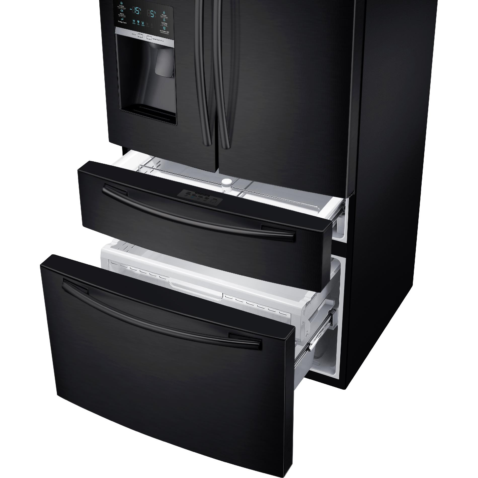 Samsung 25 cu. ft. 4-Door French Door Refrigerator - Black