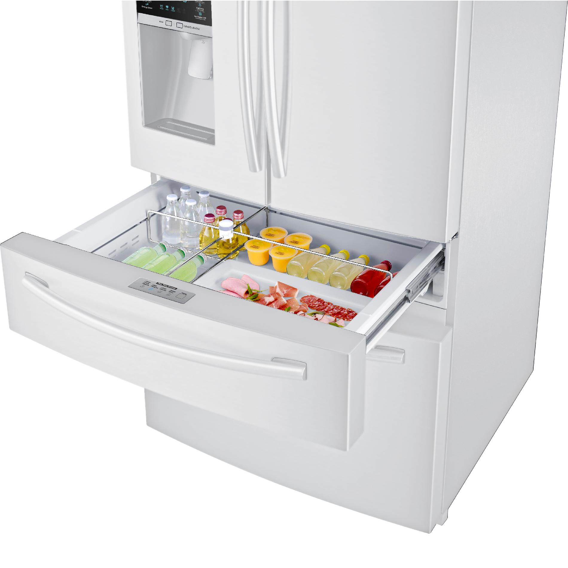 Samsung 28 cu. ft. 4-Door French Door Refrigerator - White
