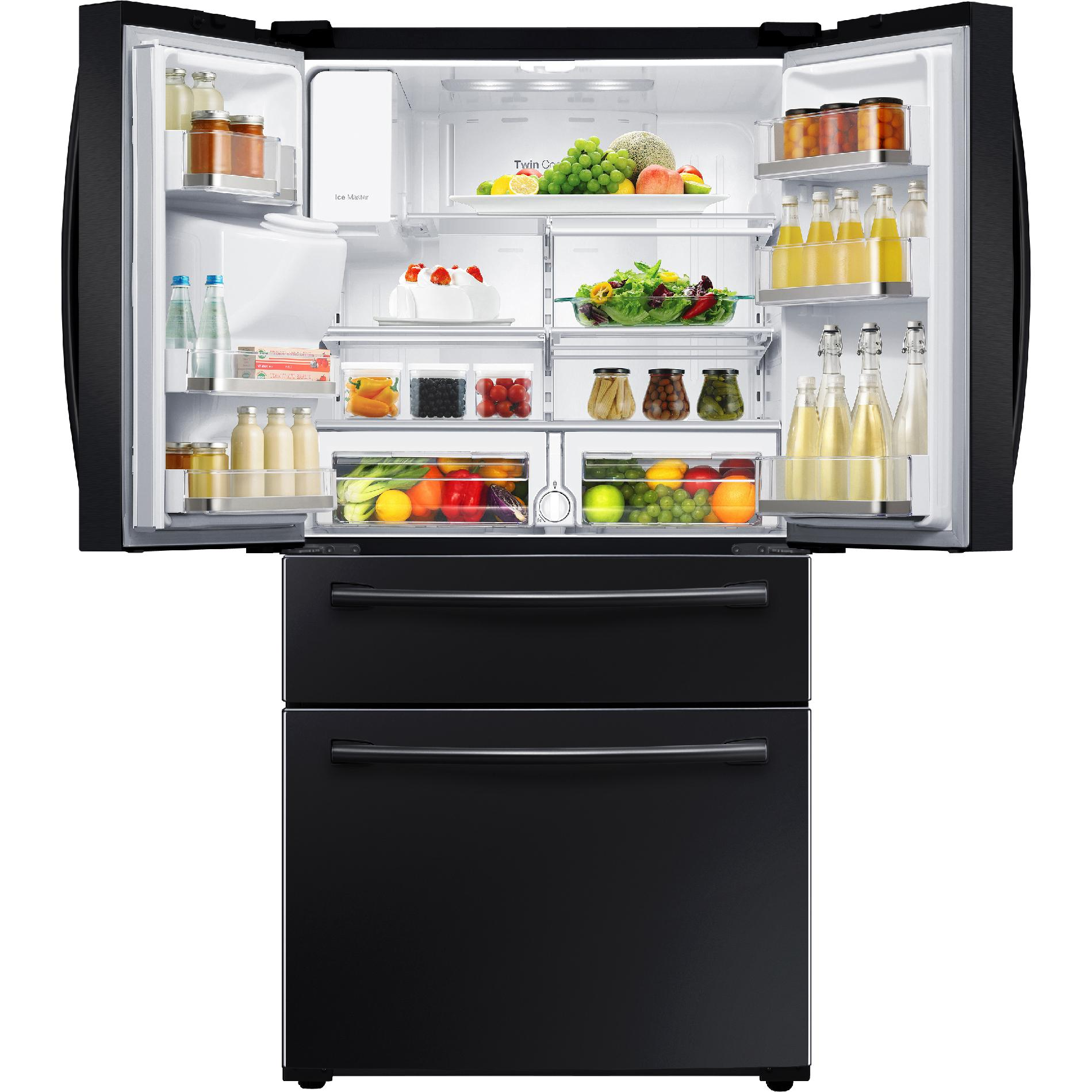 Samsung RF28HMEDBBC/AA 28 cu. ft. 4-Door French Door Refrigerator - Black