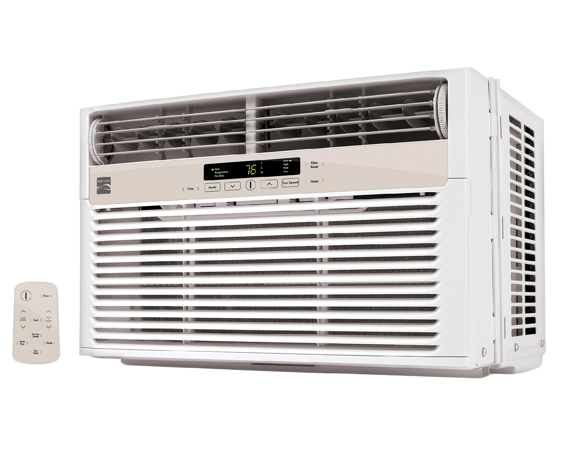 Kenmore 6,000-BTU Room Air Conditioner Window Unit - White