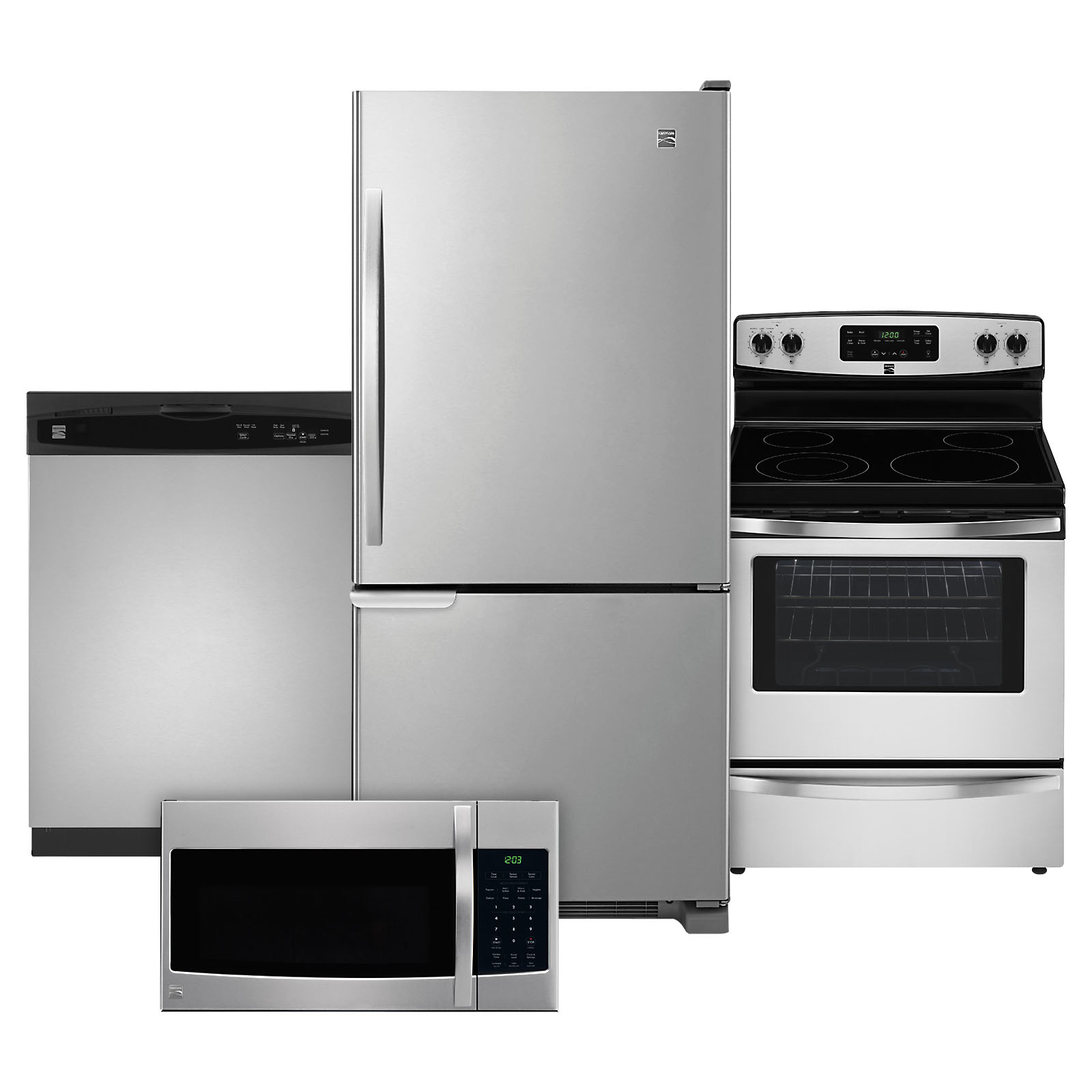 Kenmore 25 2 Side By Side Refrigerator Ideal Storage At Sears