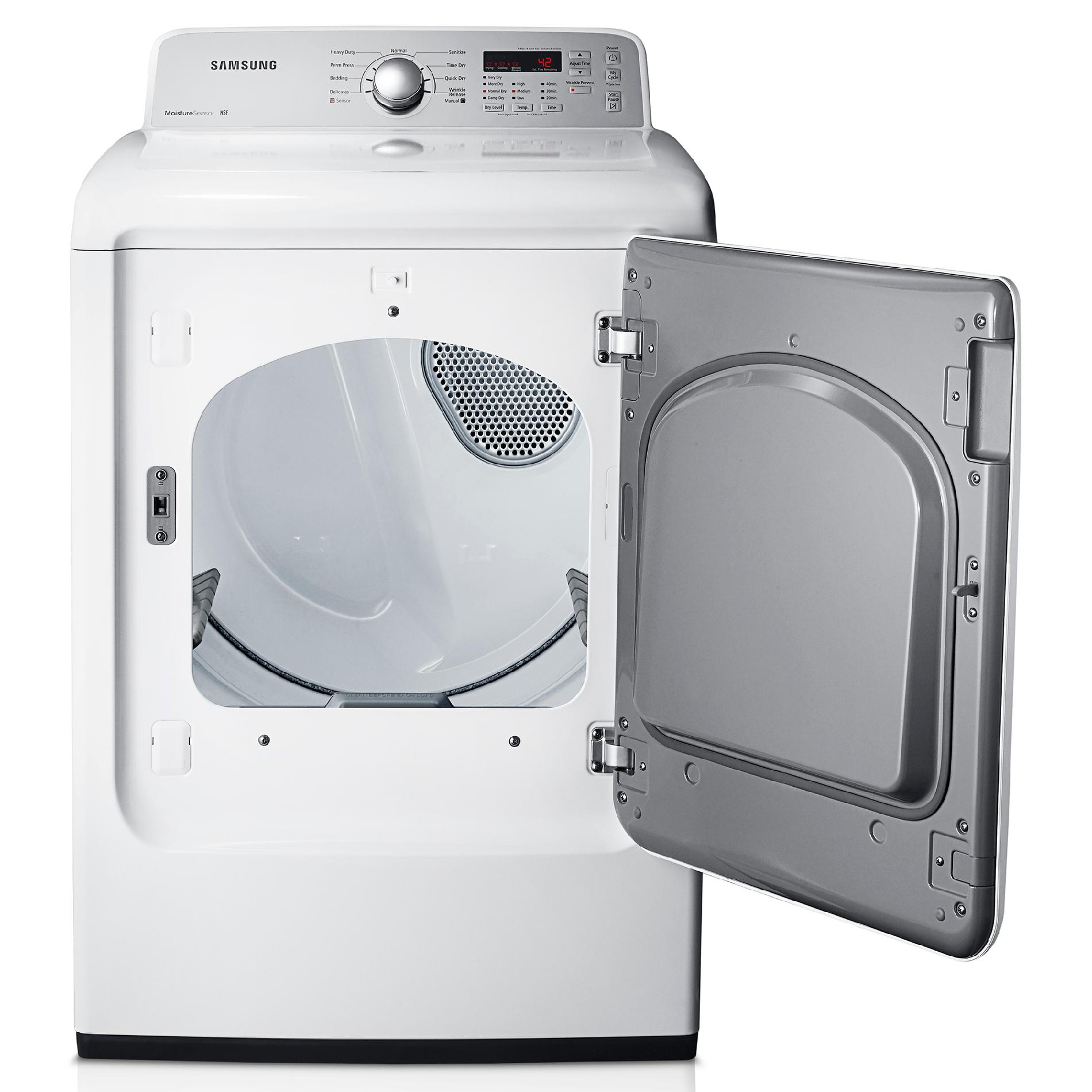 Samsung 7.2 cu. ft. Gas Dryer - White