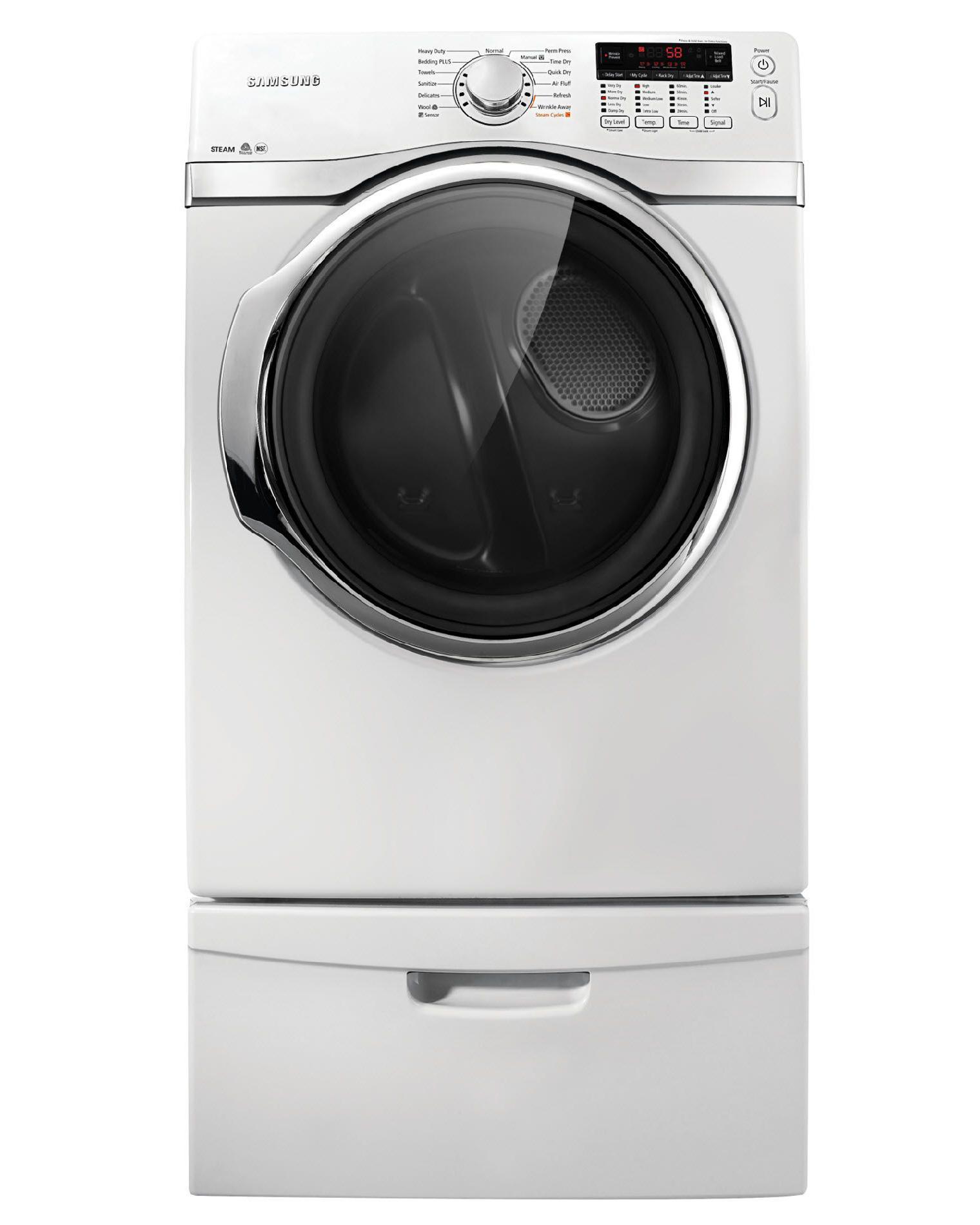 Samsung 7.4 cu. ft. Electric Dryer - White