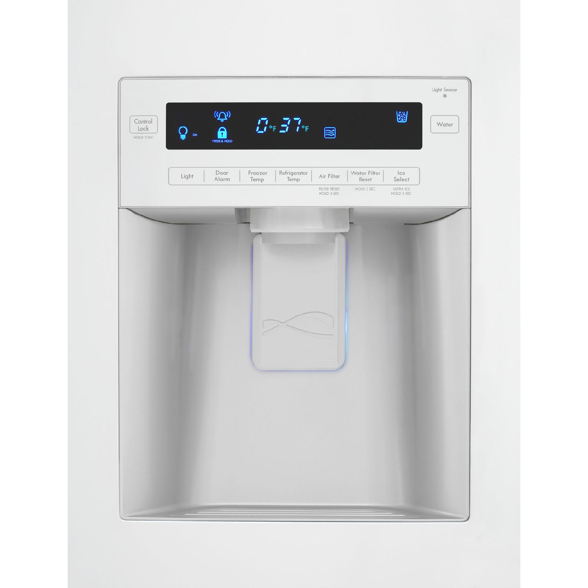 Kenmore Elite 29 cu. ft. Grab-N-Go French Door Bottom-Freezer Refrigerator - White