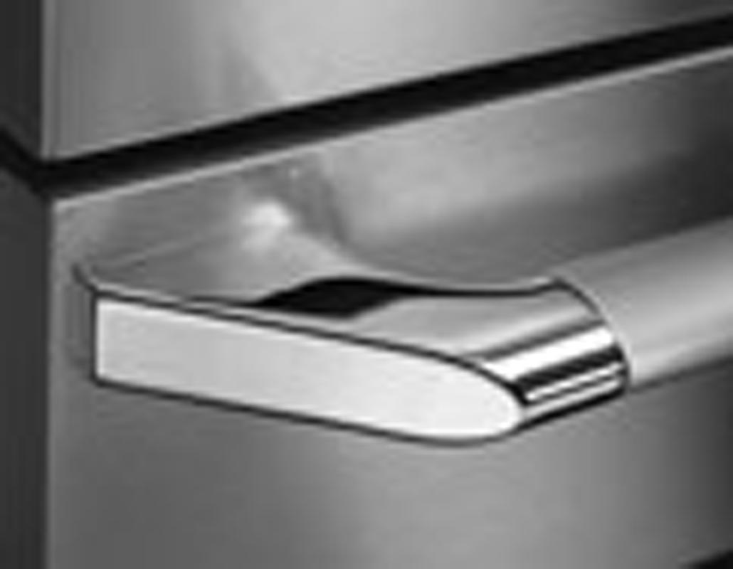 Dacor Epicure Style Dishwasher Handle - Chrome Trim