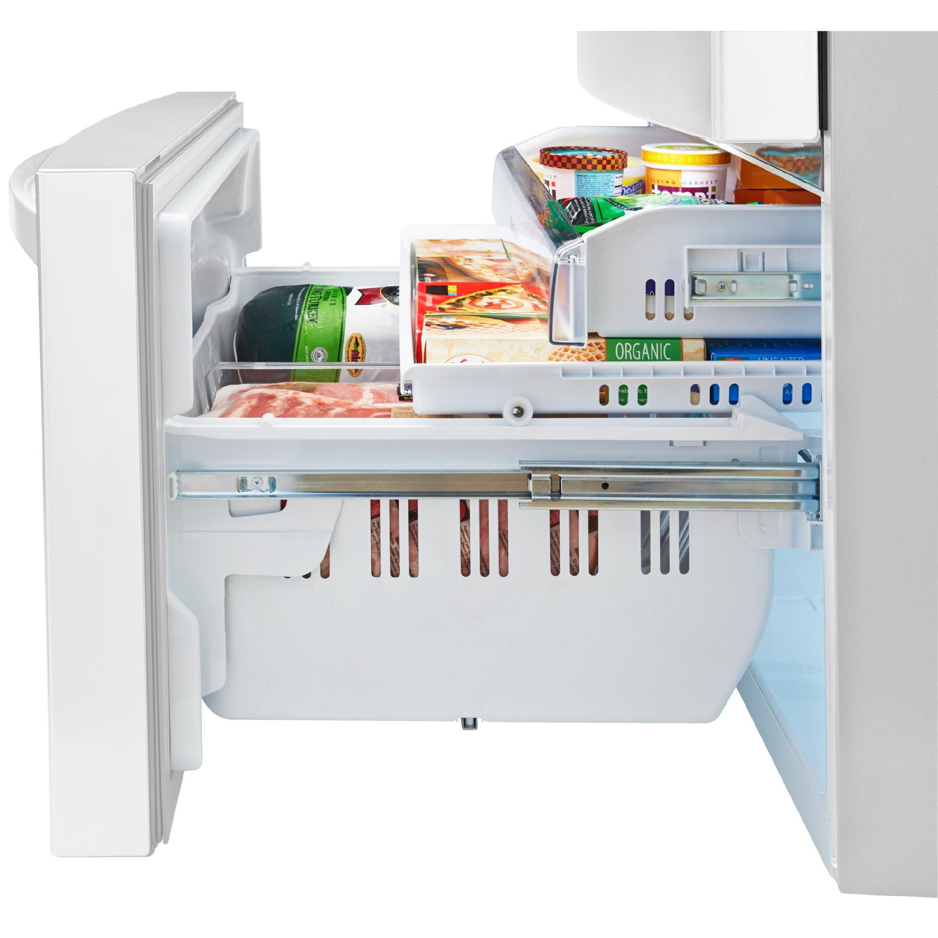 Kenmore Elite 72482 29.9 cu.ft. 4-Door Bottom-Freezer Refrigerator w/Dispenser