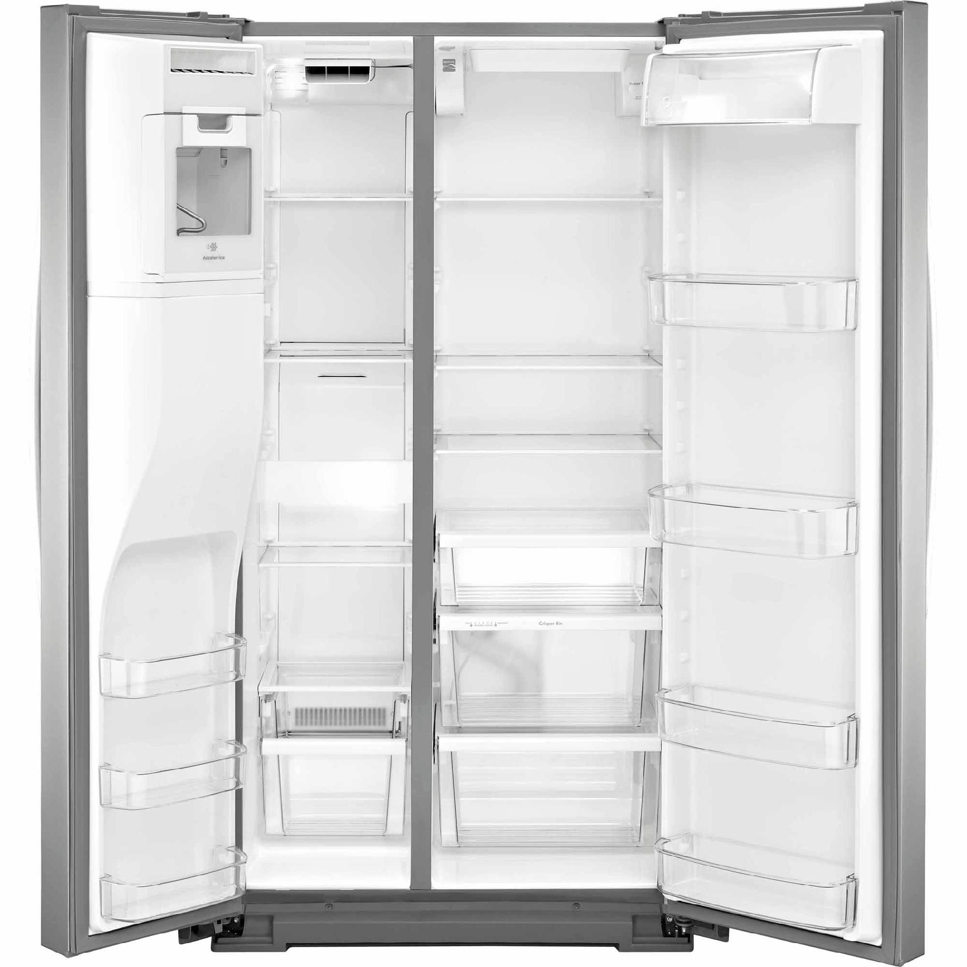 Kenmore 51783 21 cu. ft. Side-by-Side Refrigerator—Stainless Steel
