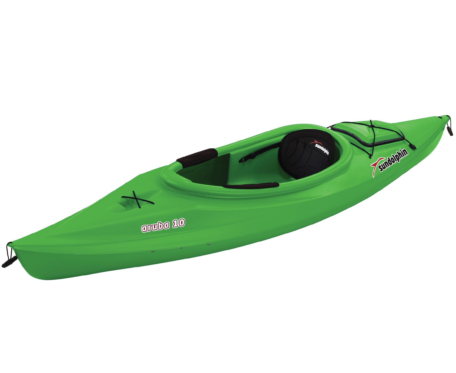 Aruba-10-1-Person-Sit-In-Kayak-in-Lime-Green-with-Adjustable-Padded-