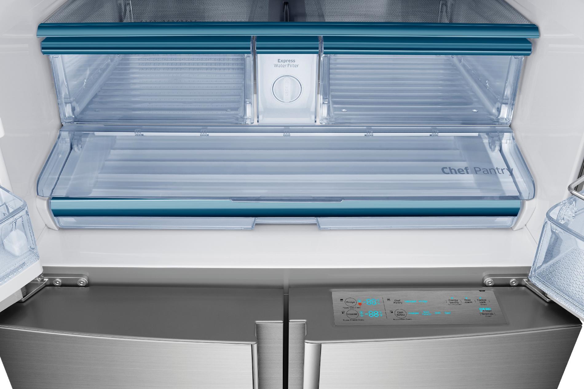 Samsung 34 cu. ft. Chef Collection 4-Door Flex™ Refrigerator - Stainless Steel