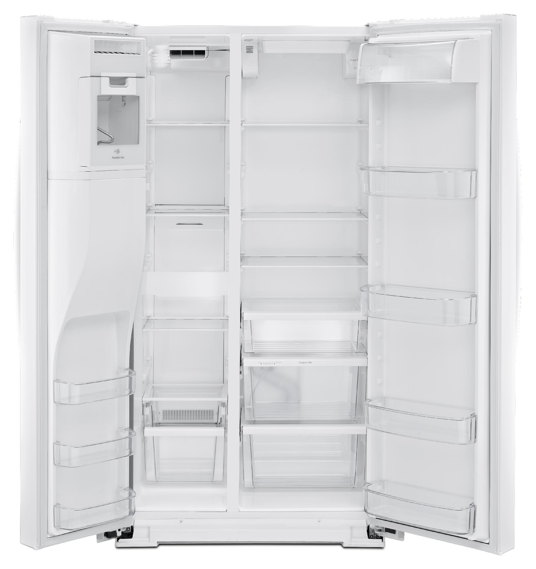 Kenmore 51782 21 cu. ft. Side-by-Side Refrigerator - White