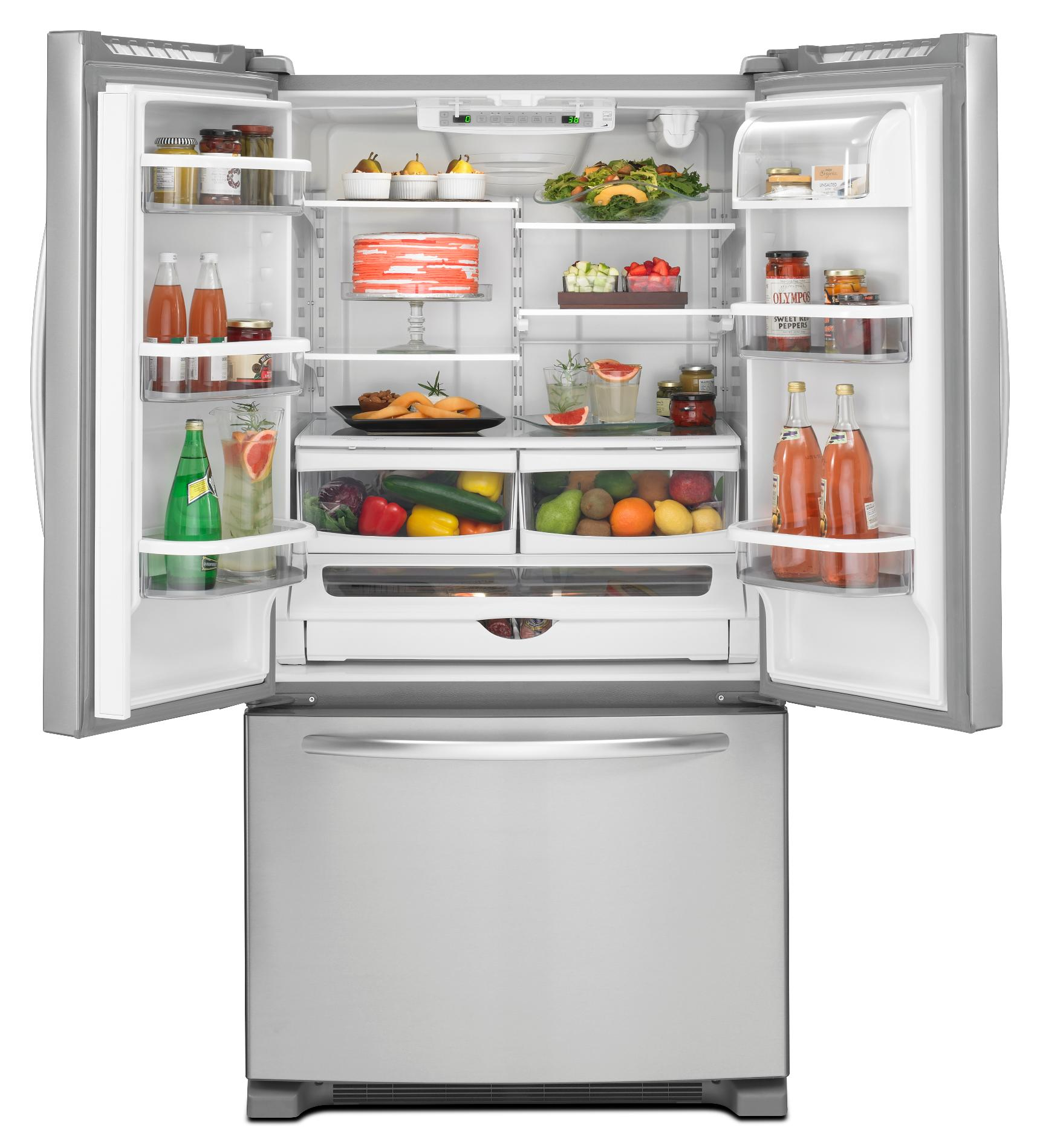 KitchenAid 20.0 cu. ft. Counter-Depth French Door Refrigerator - Stainless Steel