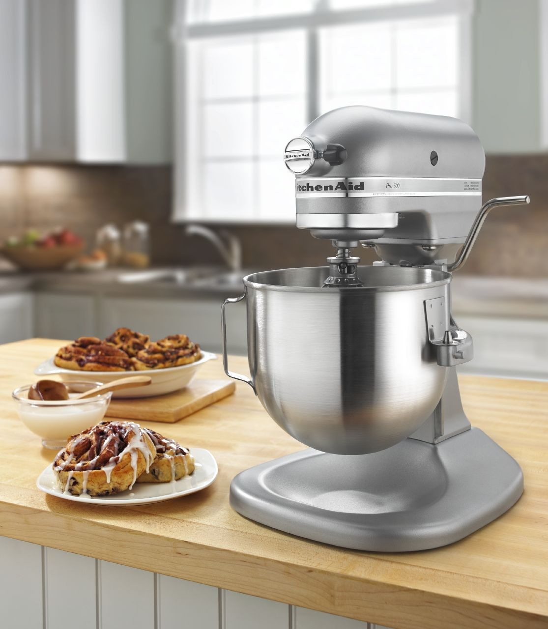 KitchenAid 5 Qt. Pro 500 Series Silver Stand Mixer