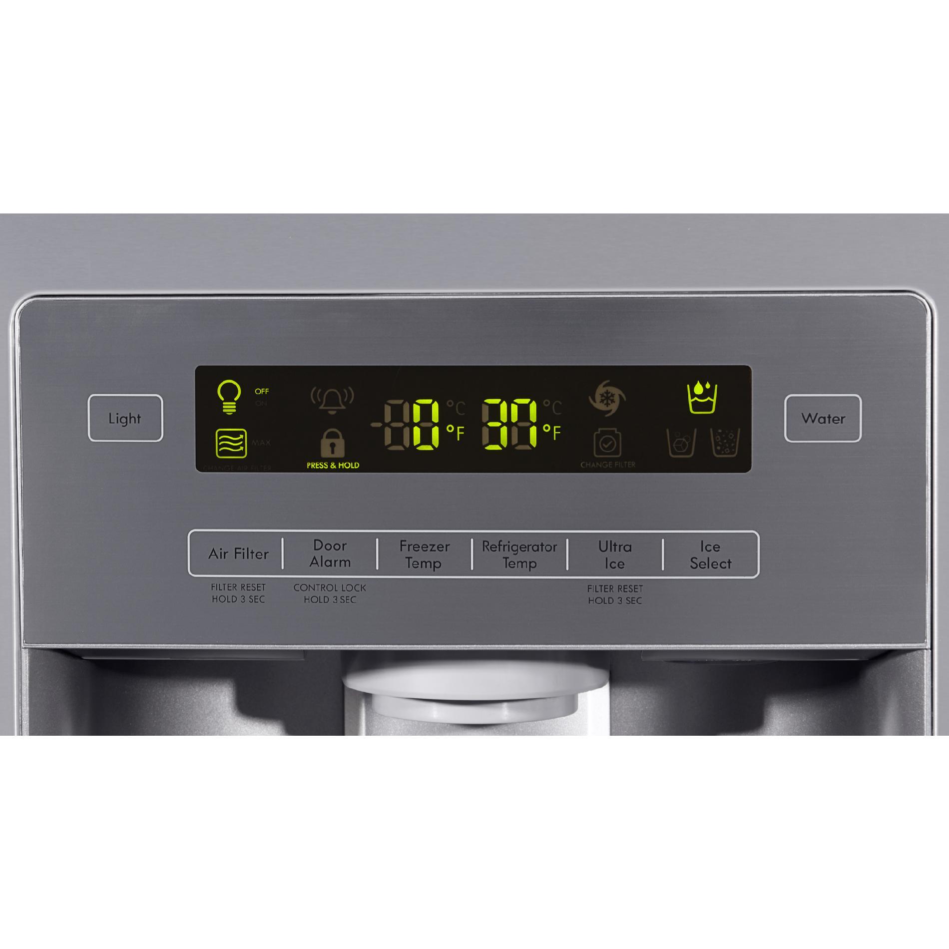 Kenmore 73055 26.8 cu. ft. French Door Bottom-Freezer Refrigerator—Active Finish