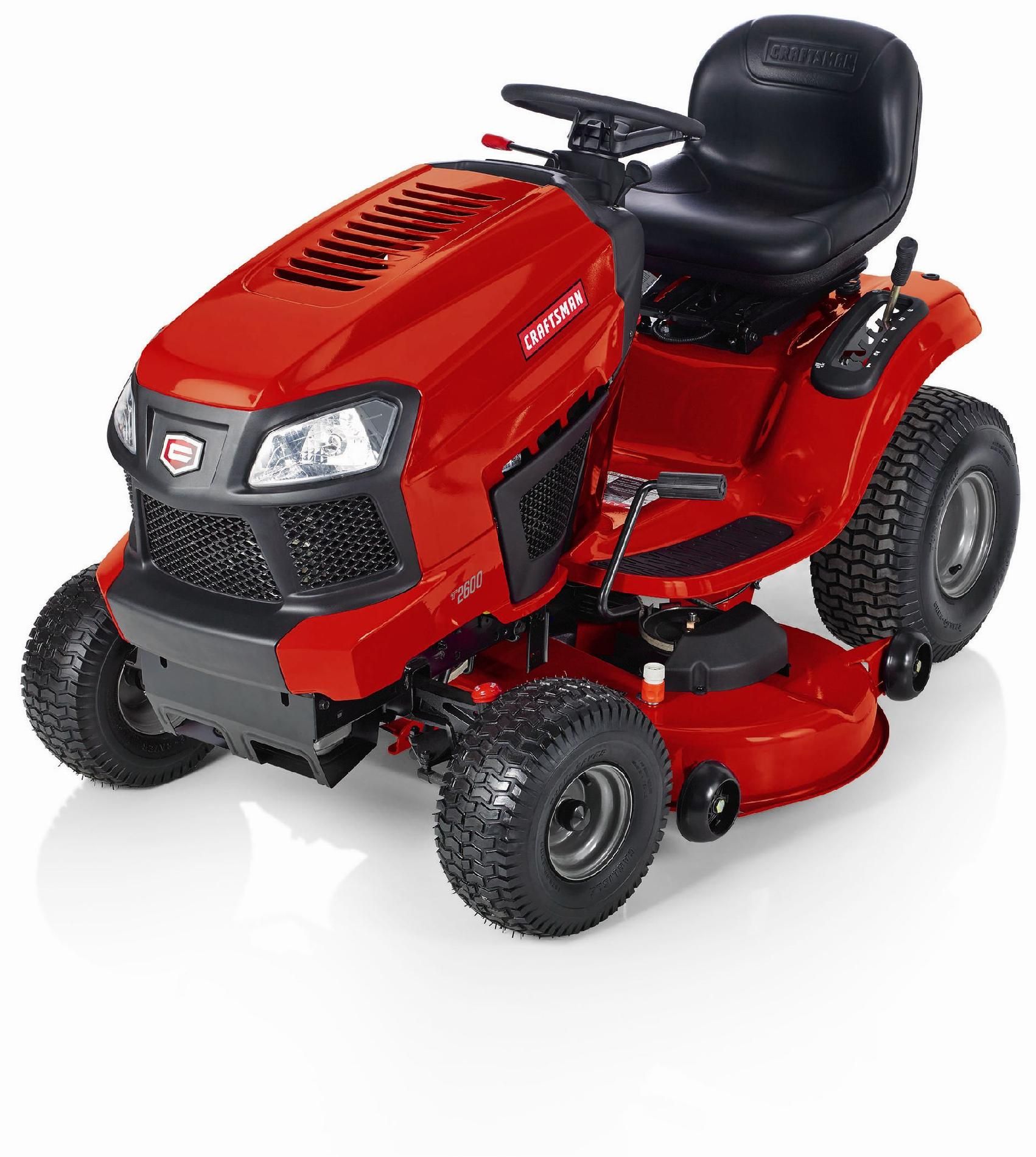"Craftsman 19HP 46"" KOHLER Turn Tight® Automatic Riding Mower - Non CA"