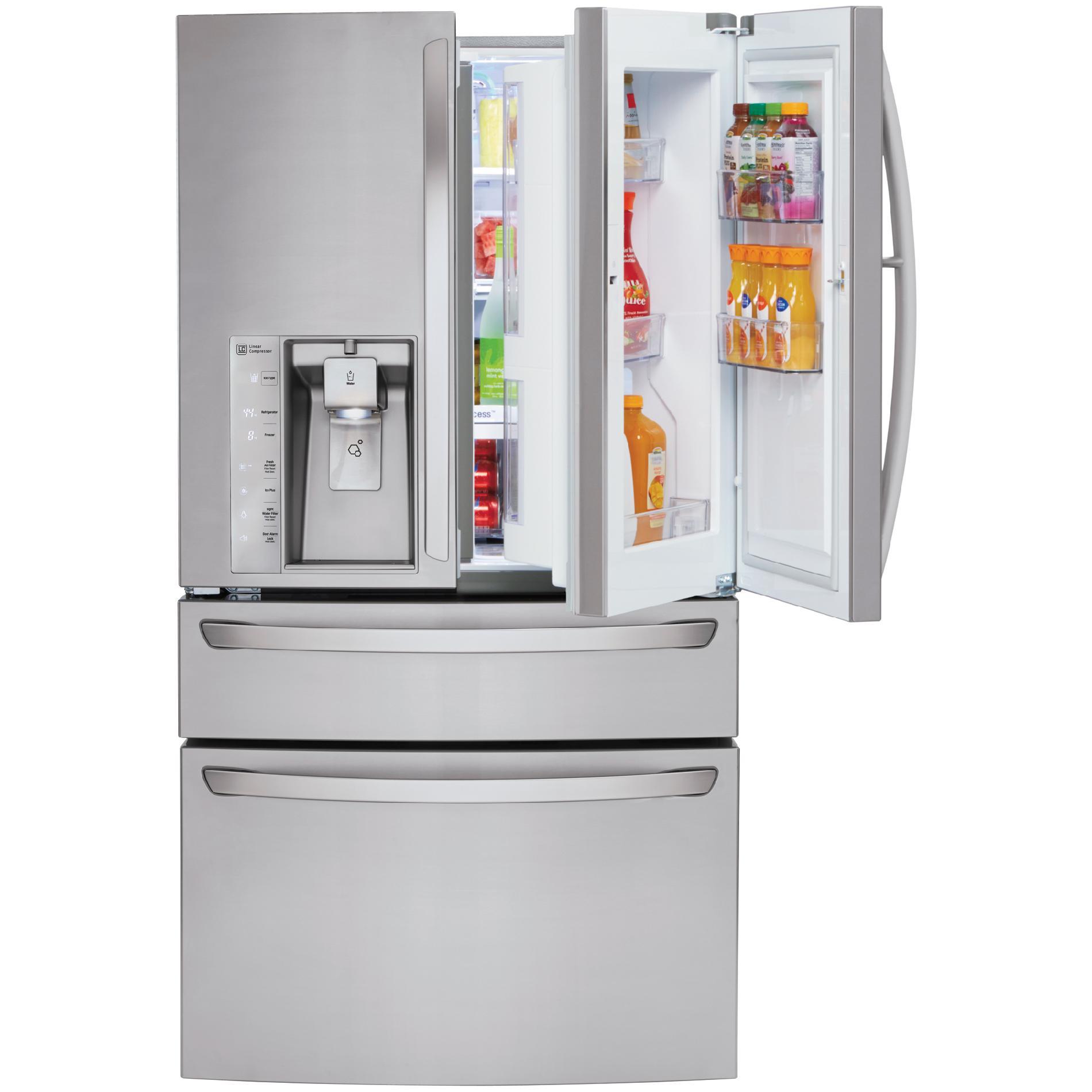 LG LMXS30776S 29.7 cu. ft. 4-Door French Door Refrigerator