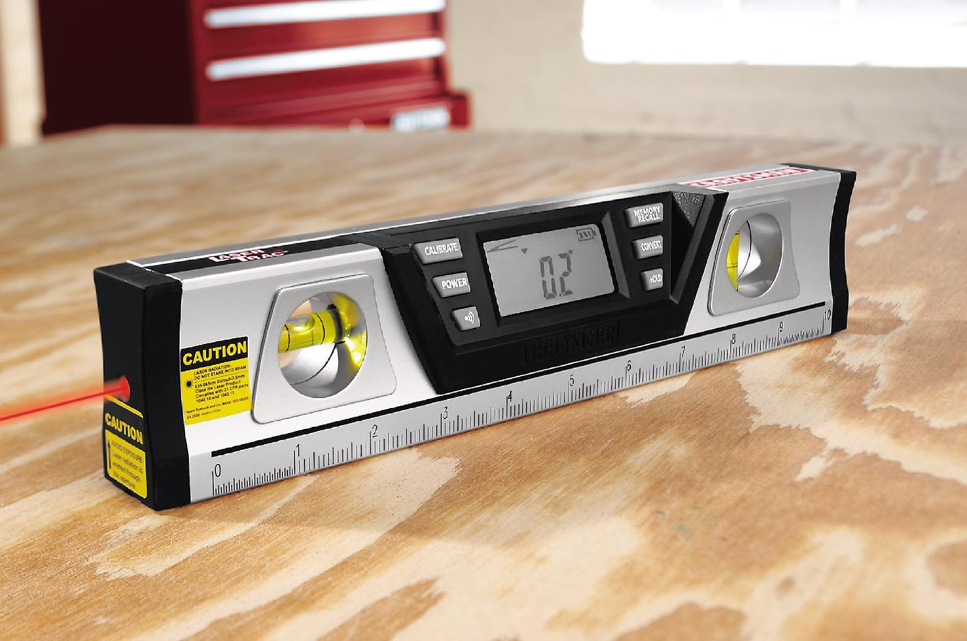 Craftsman 10 in. Digital LaserTrac® Level