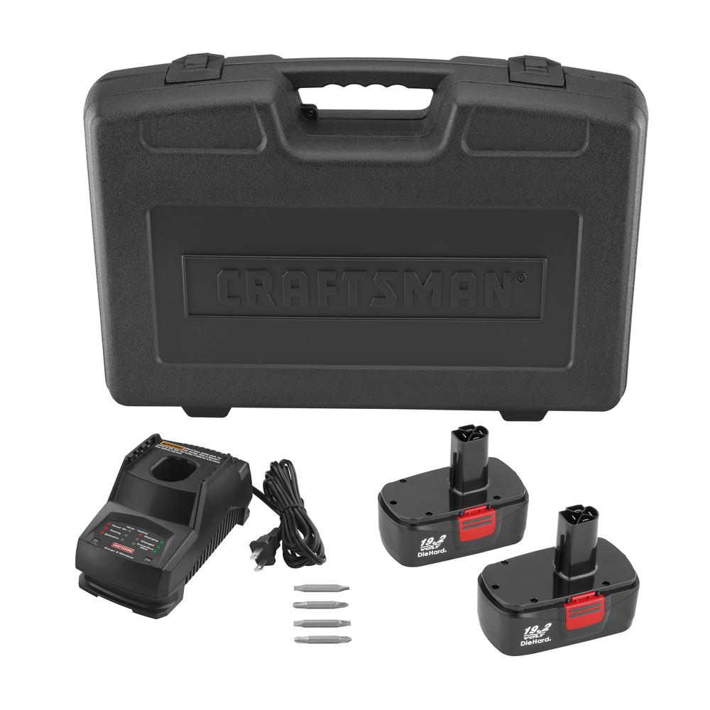 Craftsman C3 19.2-Volt  Cordless Combo Kit with RA Drill
