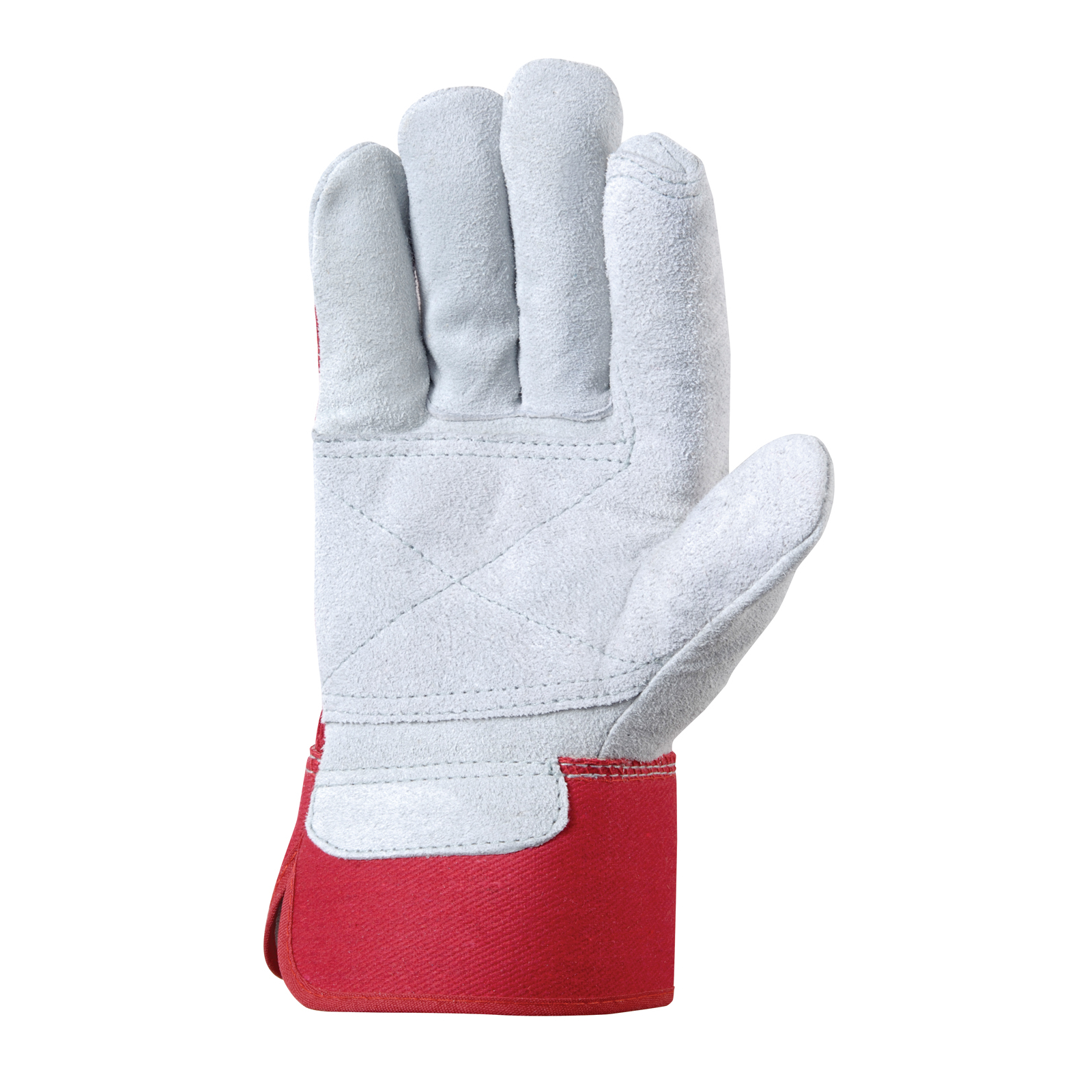 Wells Lamont Double Layer Suede Cowhide Gloves - One Size