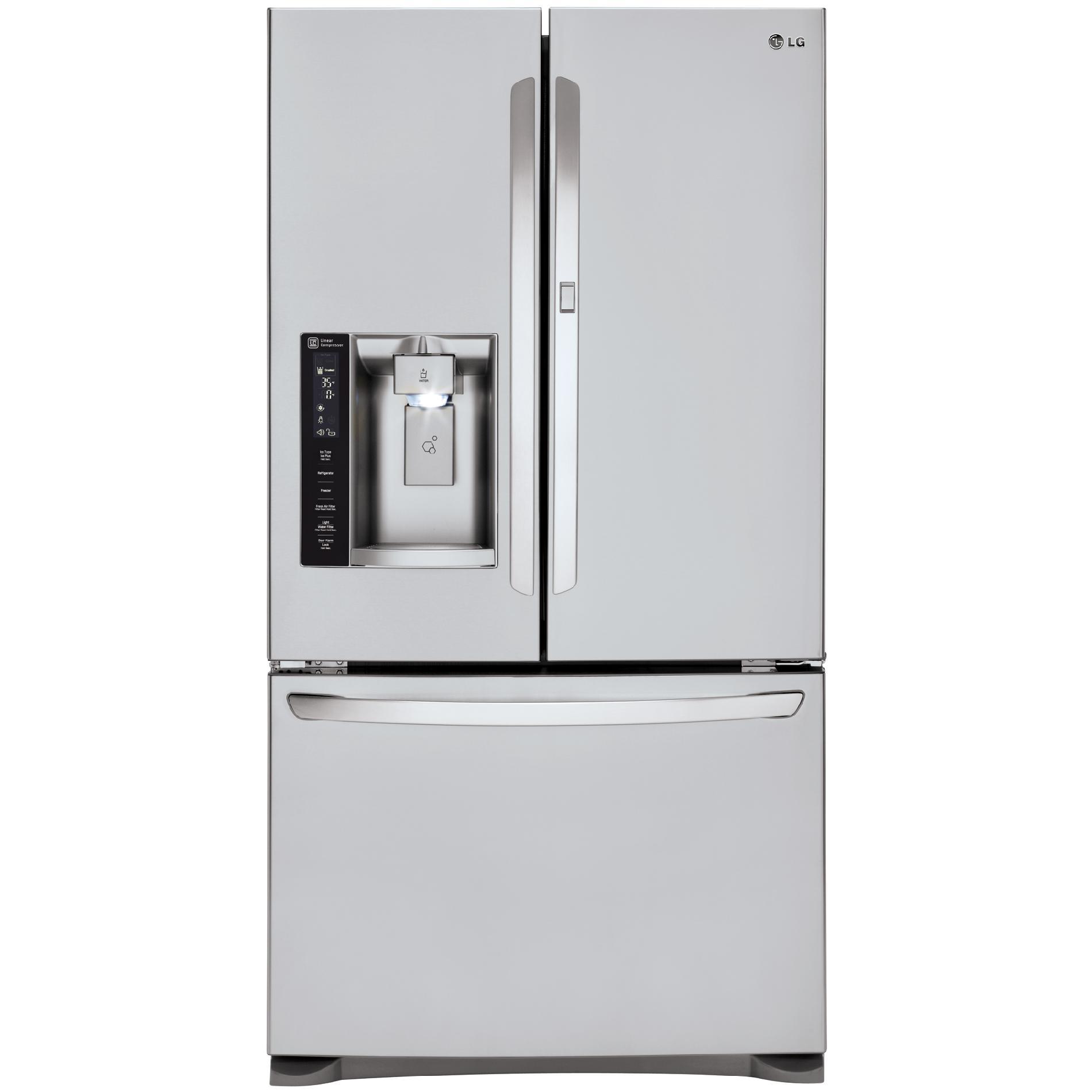 LG LFXS27566S 26.6 cu.ft. Ultra-Capacity French Door Refrigerator w/Door-in-Door™