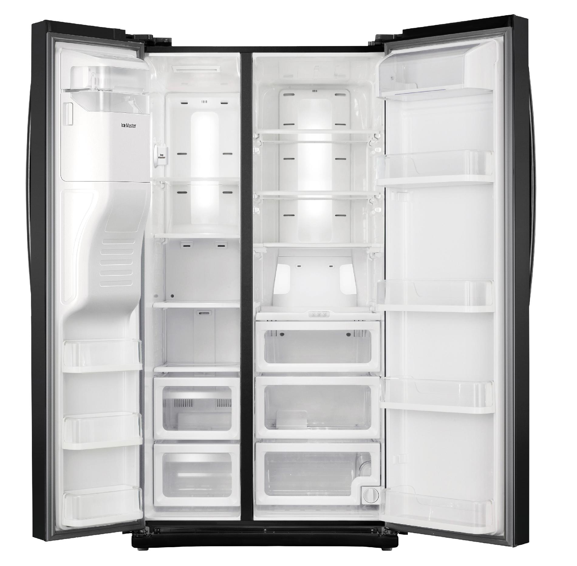 Samsung 25 cu. ft Side-by-Side Refrigerator w/ CoolSelect Zone™ - Black