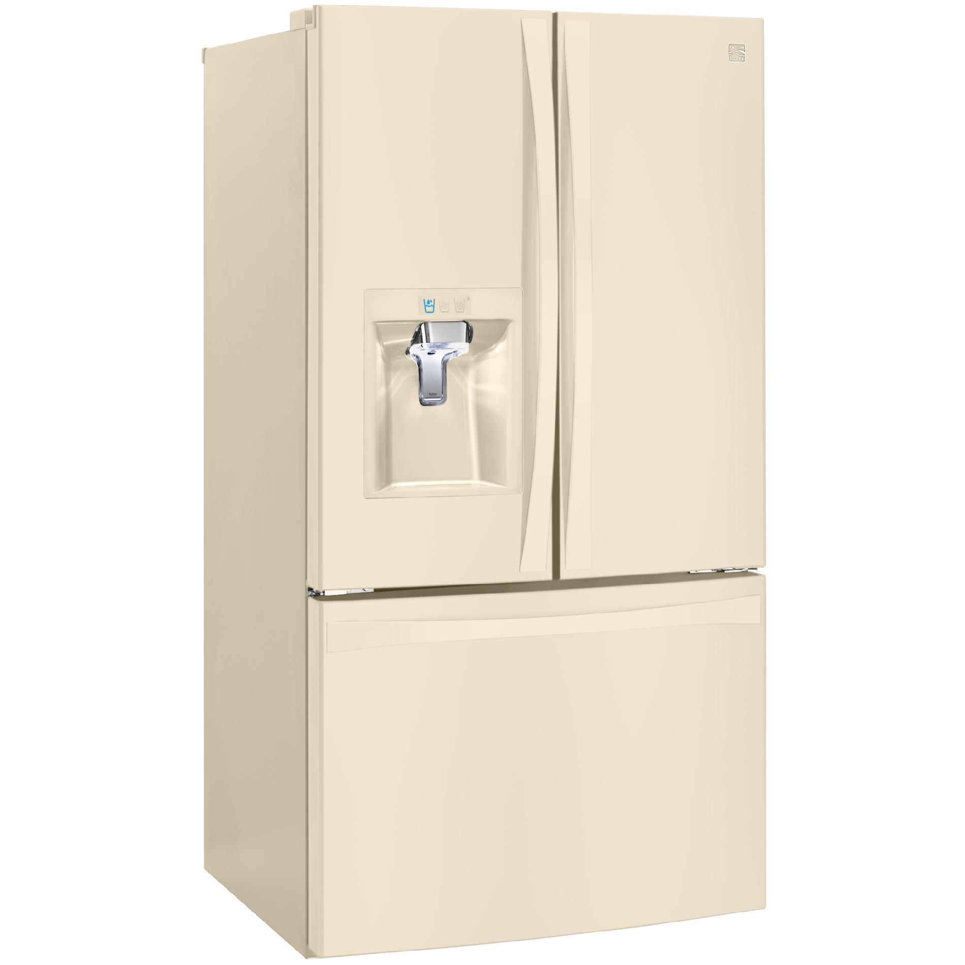Kenmore Elite 74024 29.8 cu.ft. French Door Bottom-Freezer Refrigerator
