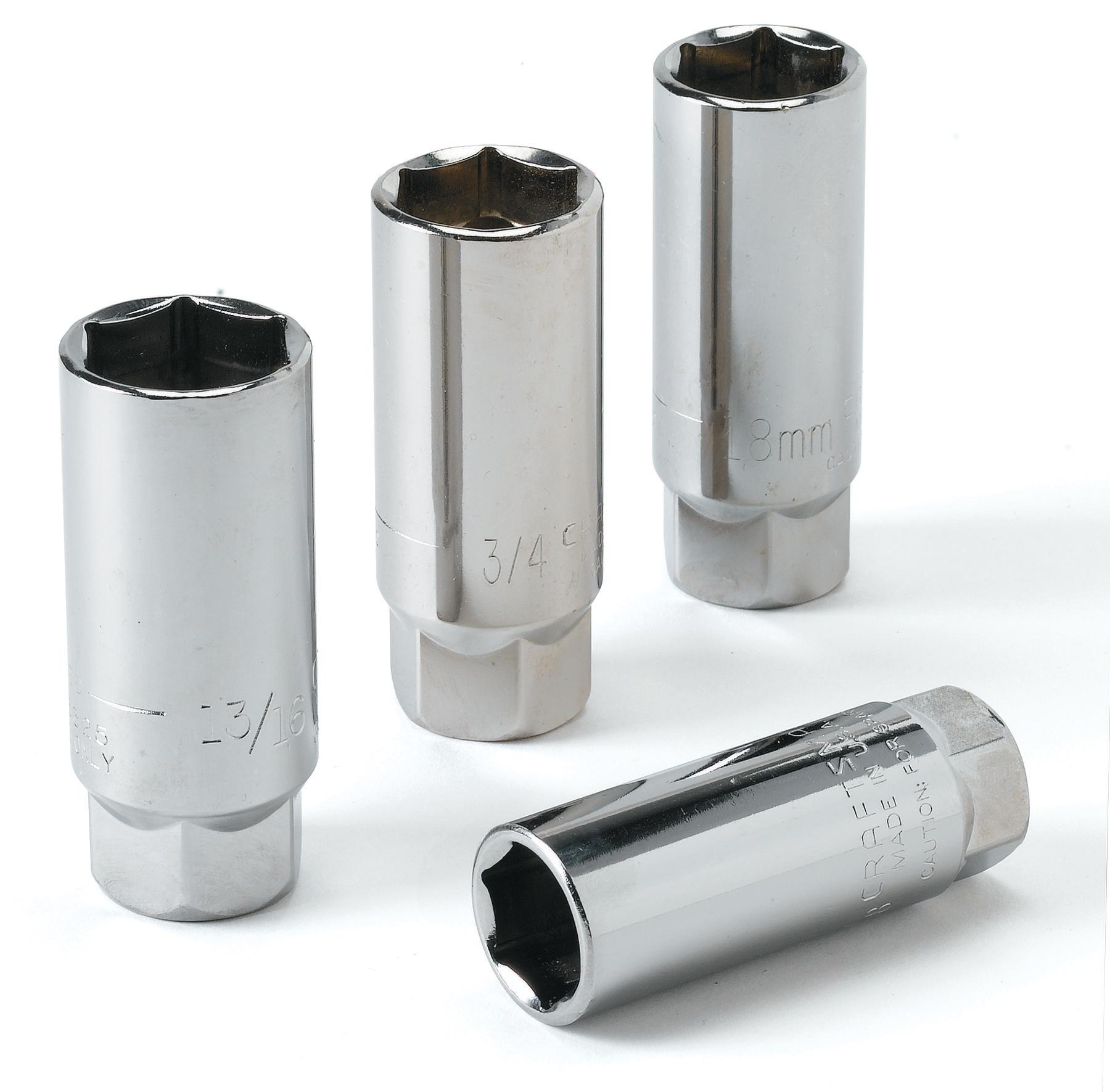 Craftsman 4 pc. Spark Plug Socket Set, 3/8 in. drive