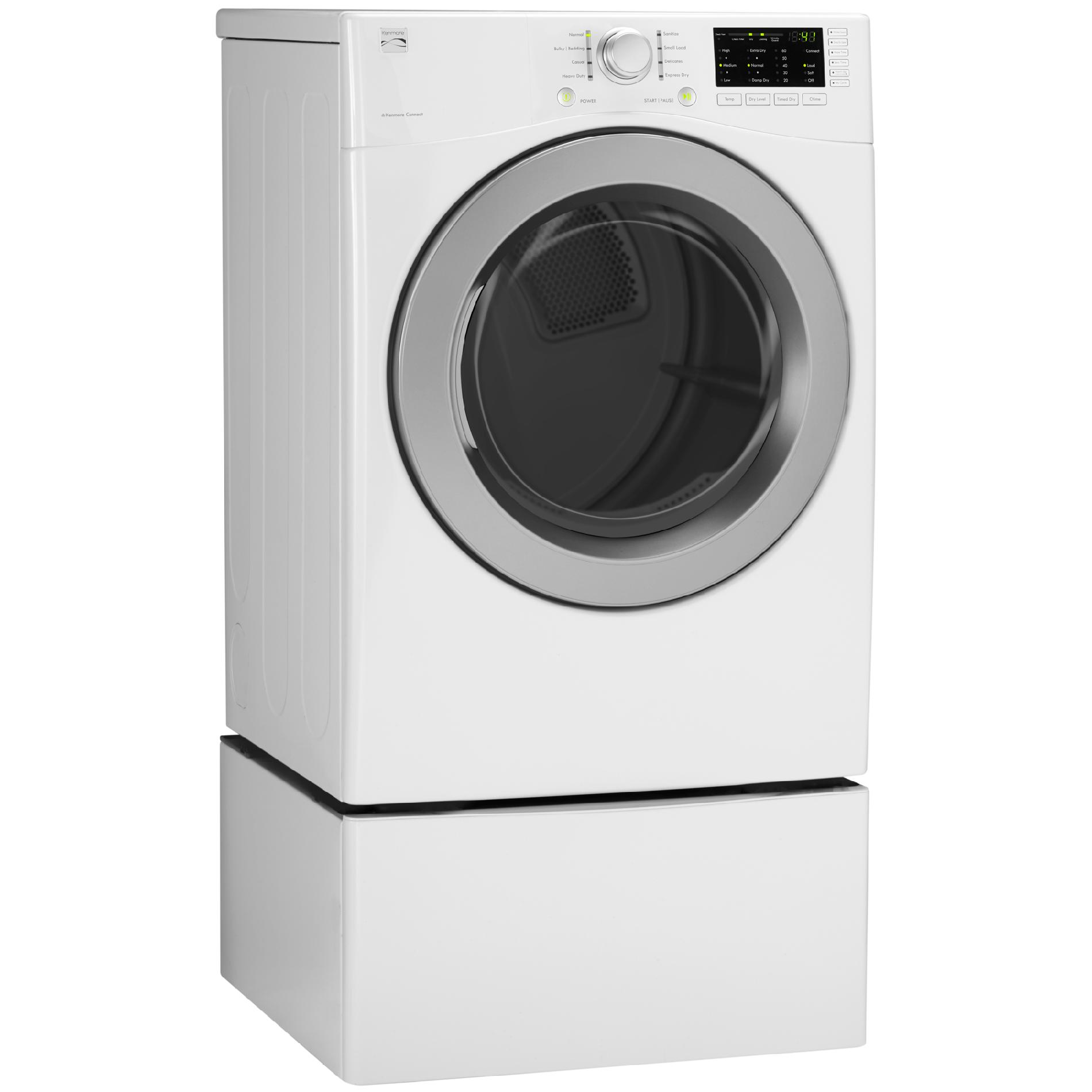Kenmore 91182 7.3 cu. ft. Gas Dryer w/ Sensor Dry - White