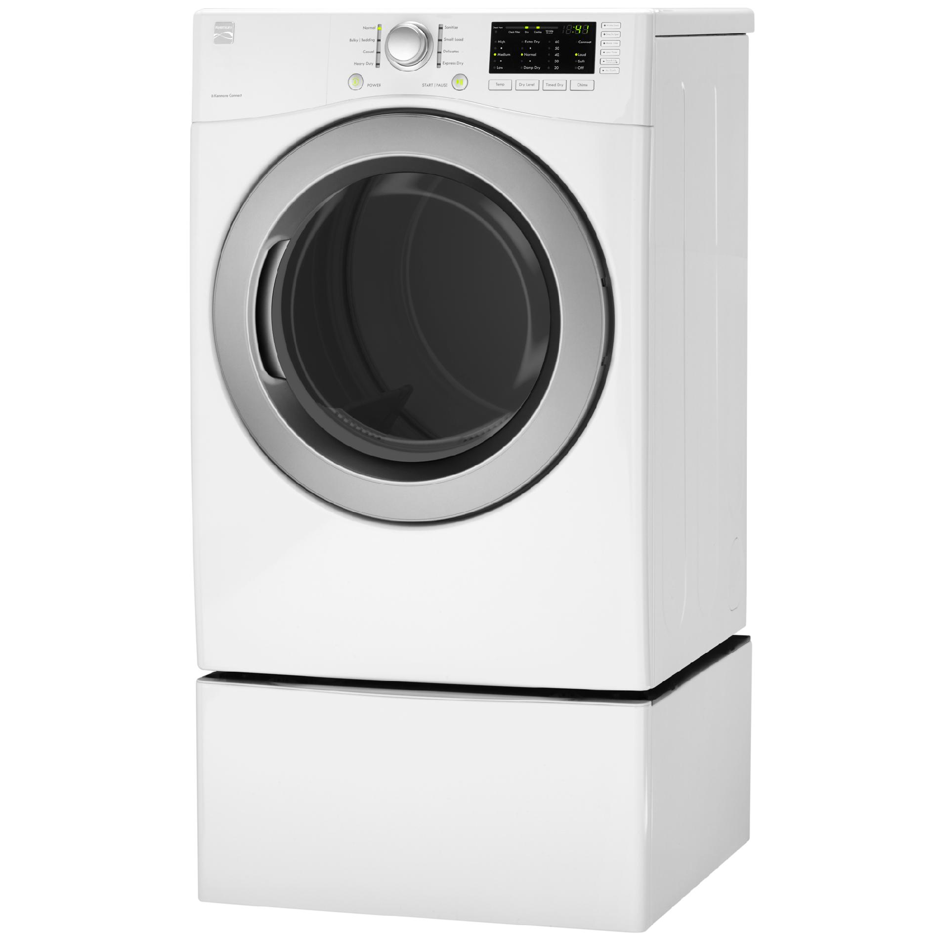 Kenmore 7.3 cu. ft. Gas Dryer w/ Sensor Dry - White