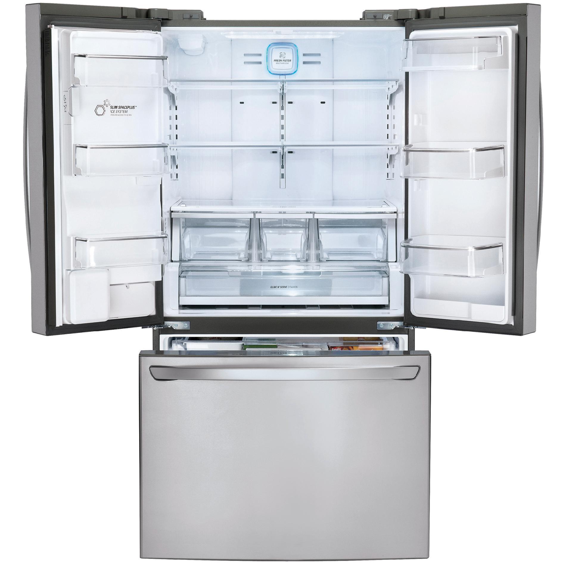LG LFXC24726S 23.7 cu. ft. French Door Refrigerator w/Smart Cooling Plus