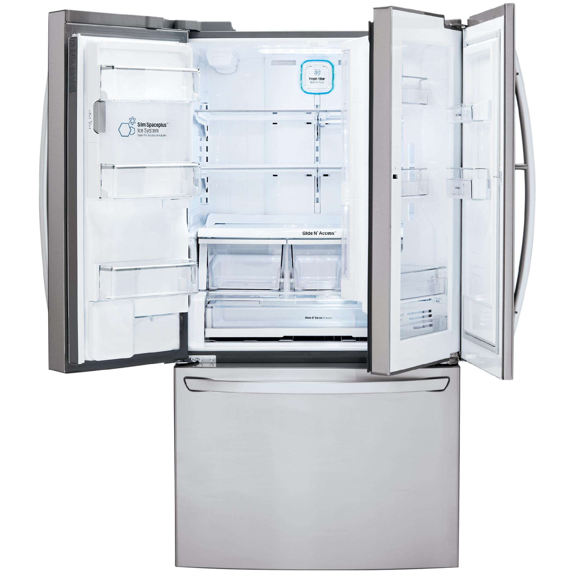 LG LFXS30766S 29.6 cu. ft. French Door Stainless Steel Refrigerator
