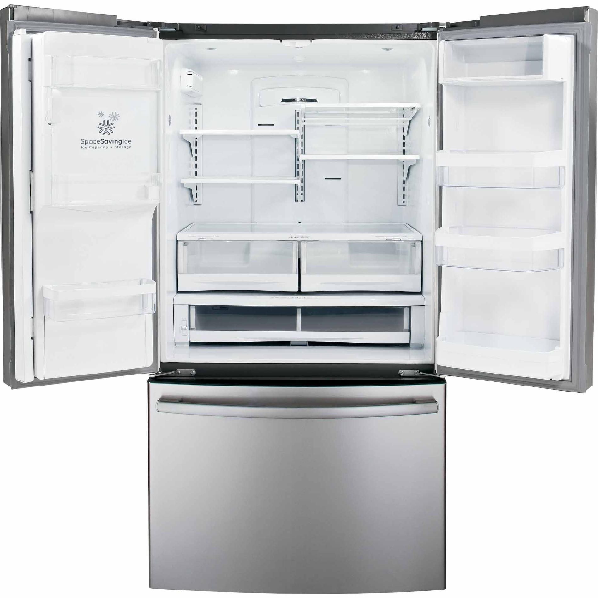 GE 28.6 cu. ft. French Door Refrigerators - Stainless Steel