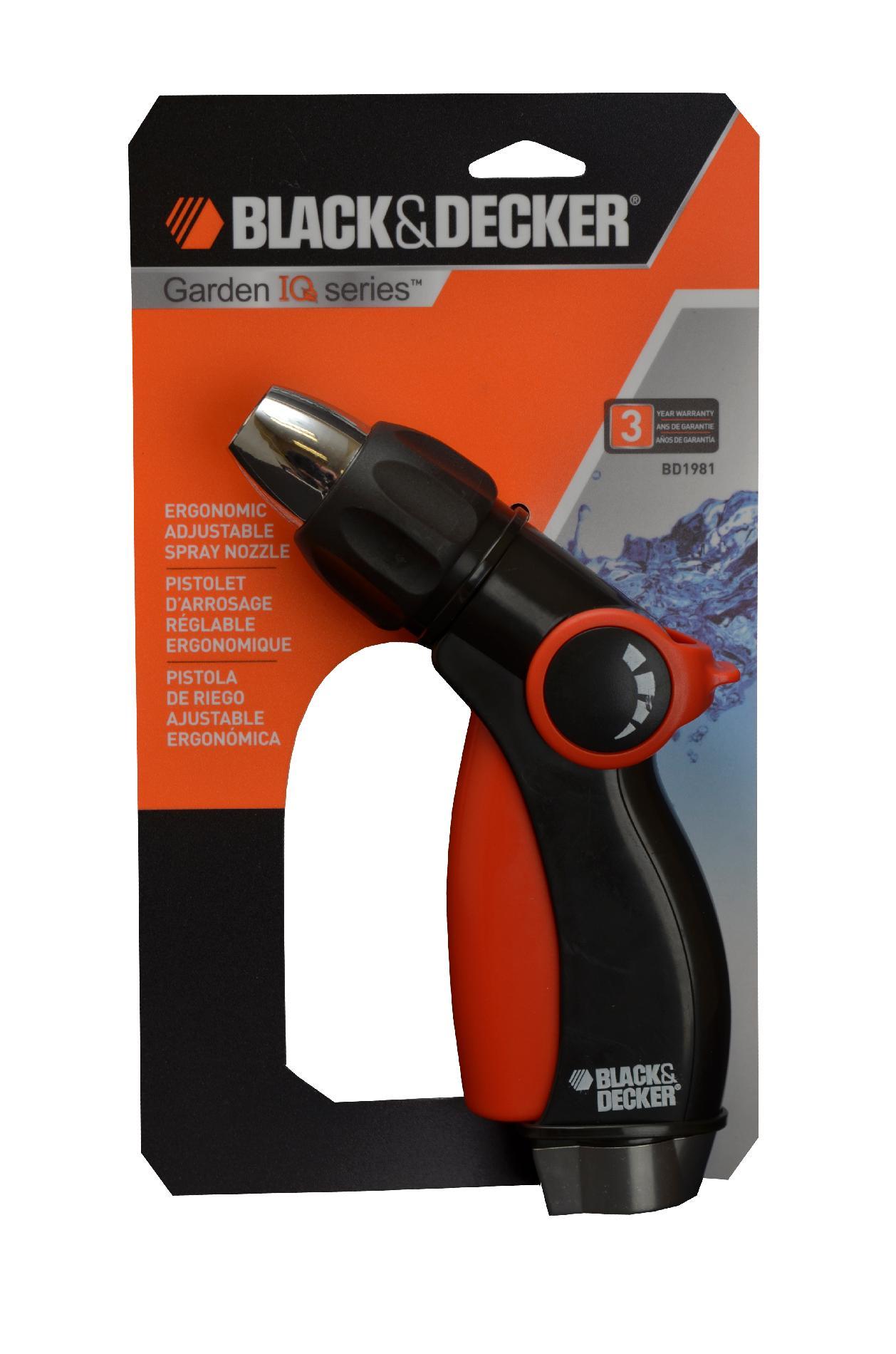 Black & Decker 3-Way Adjustable Trigger Nozzle