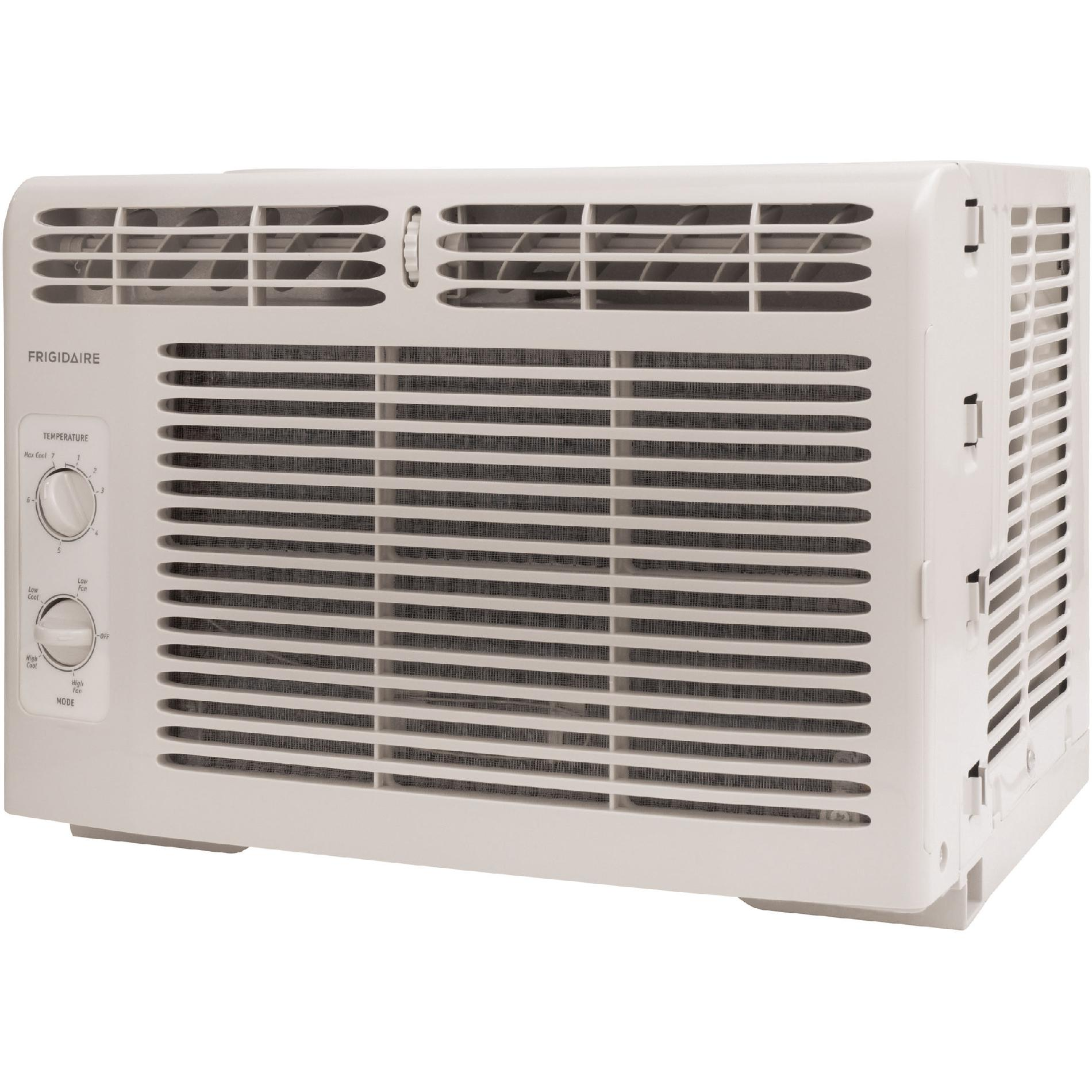 Frigidaire 8,000 BTU 115-Volt Window-Mounted Compact Air Conditioner with Mechanical Controls