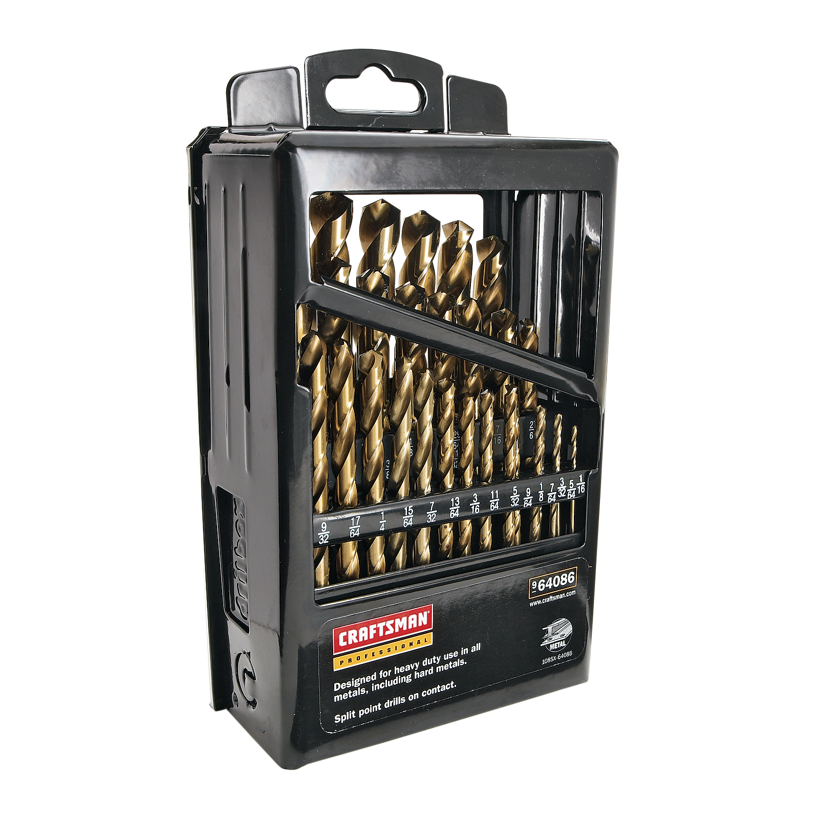Craftsman 29 pc. Cobalt Drill Bit Set