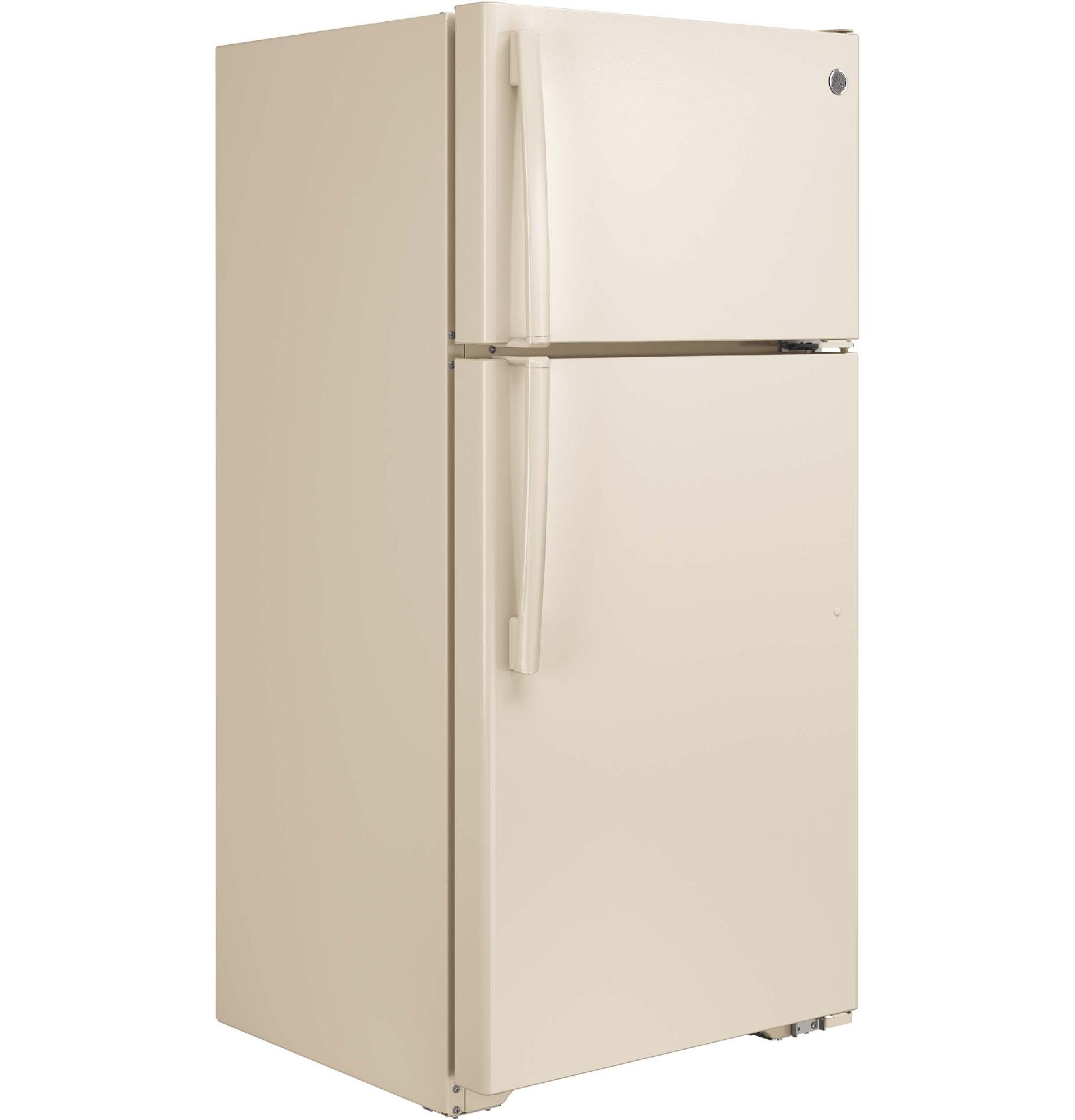 GE Appliances GTE15CTHRCC 14.6 cu. ft. Top-freezer Refrigerator - Bisque