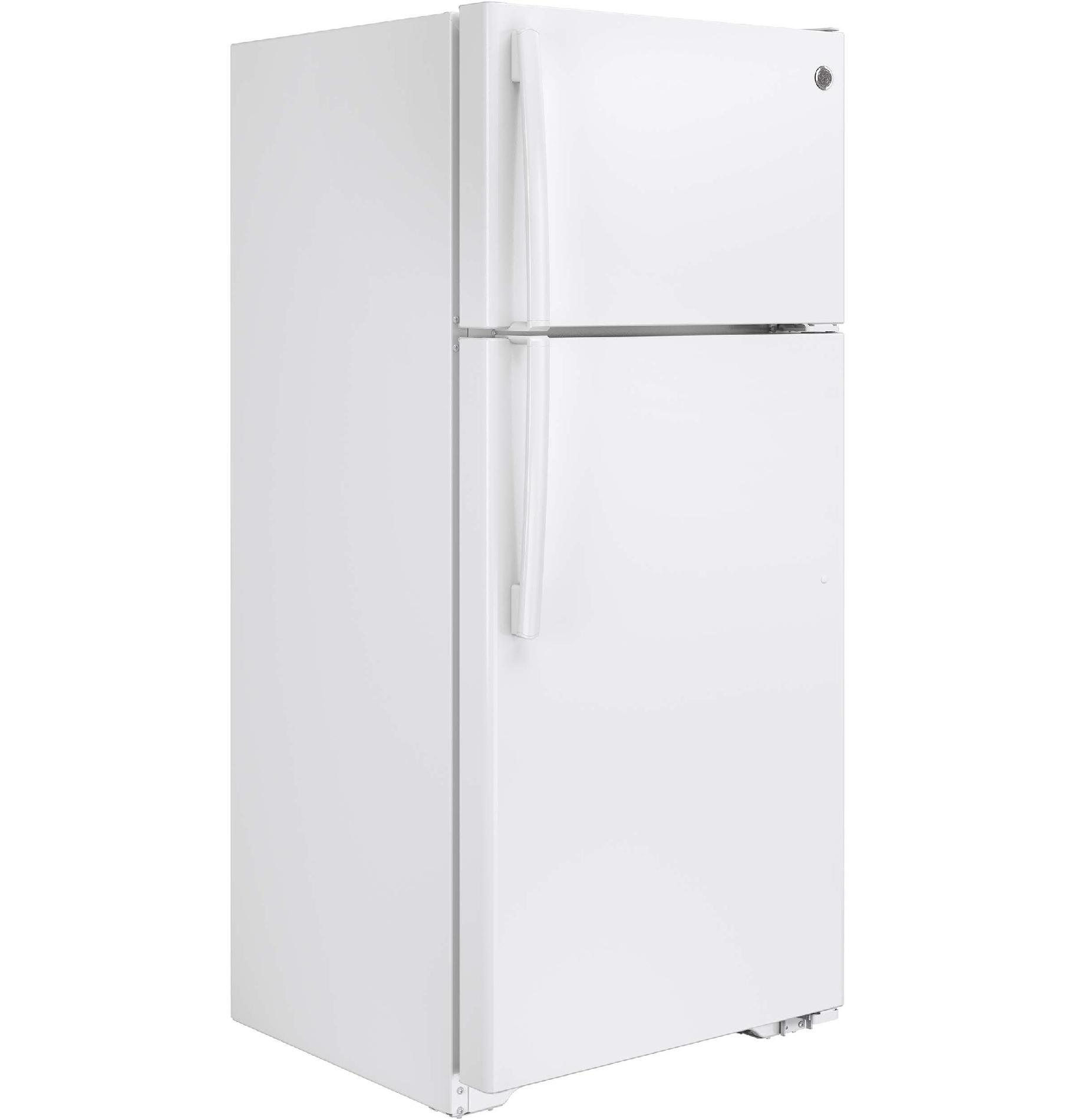 GE Appliances GTS16DTHWW 15.5 Cu. Ft. Top-Freezer Refrigerator - White