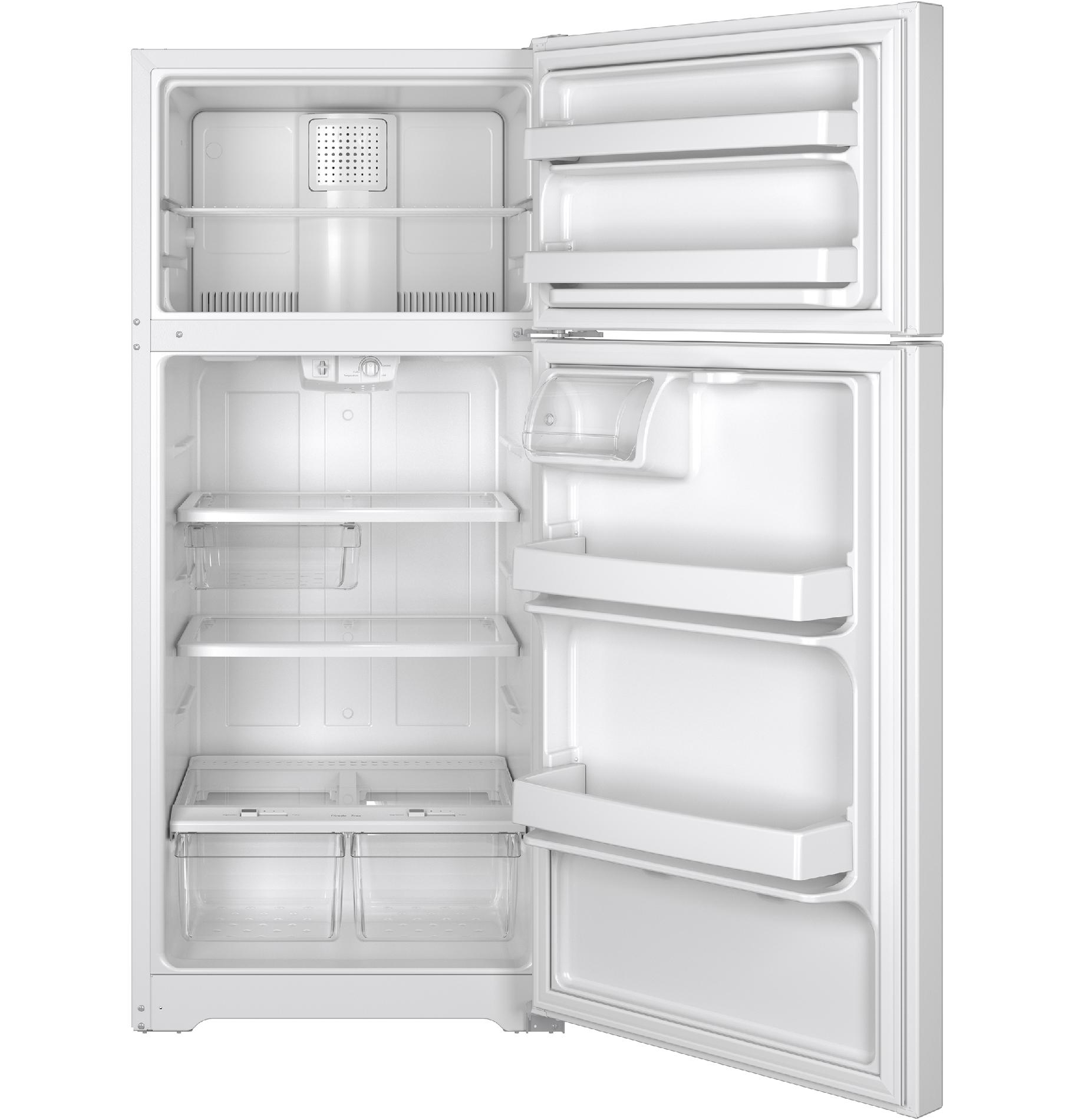 GE Appliances GTS16GTHWW 15.5 cu. ft. Top-Freezer Refrigerator - White