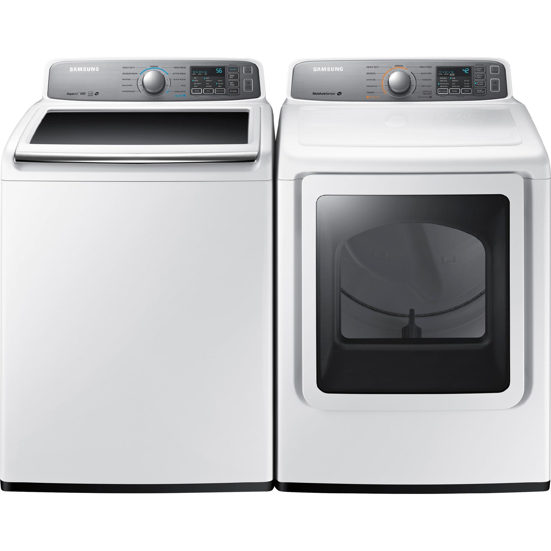 Samsung 4 5 Cu Ft Top Load Washer White Wa45h7200aw