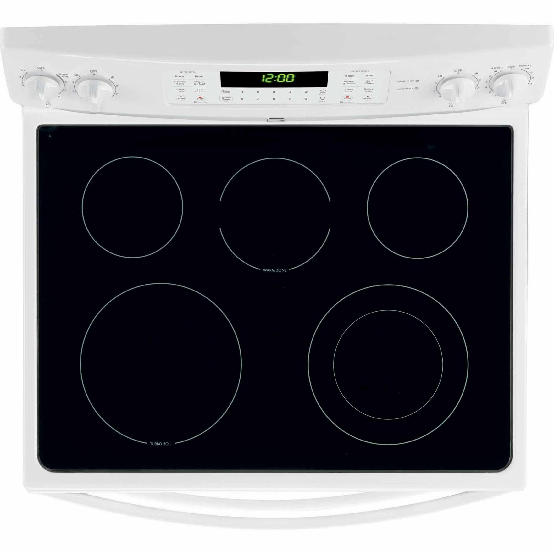 Kenmore 7.2 cu. ft. Double-Oven Electric Range w/ Convection - White