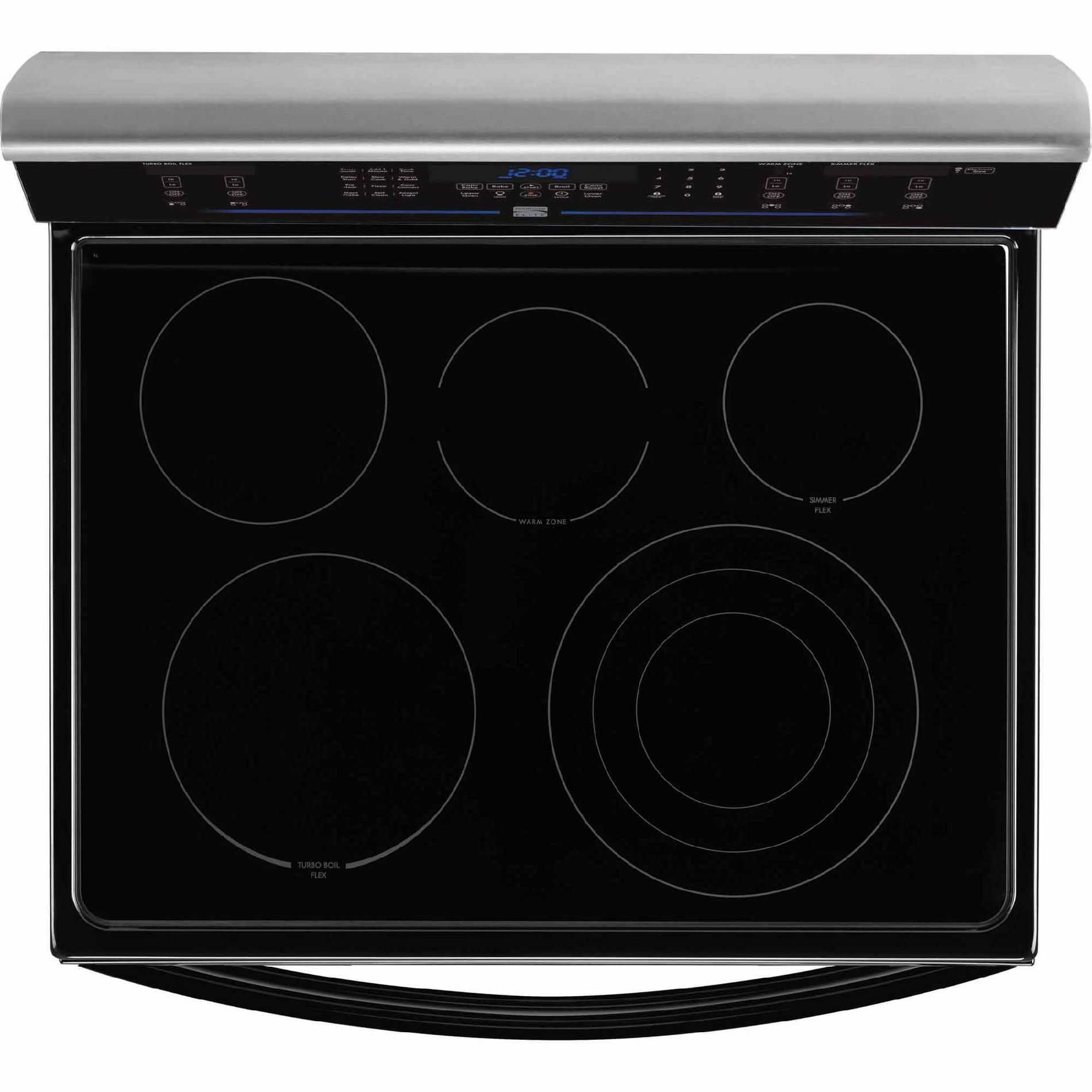 Kenmore Elite 97713 7.2 cu. ft. Double-Oven Electric Range w/ True Convection - Stainless