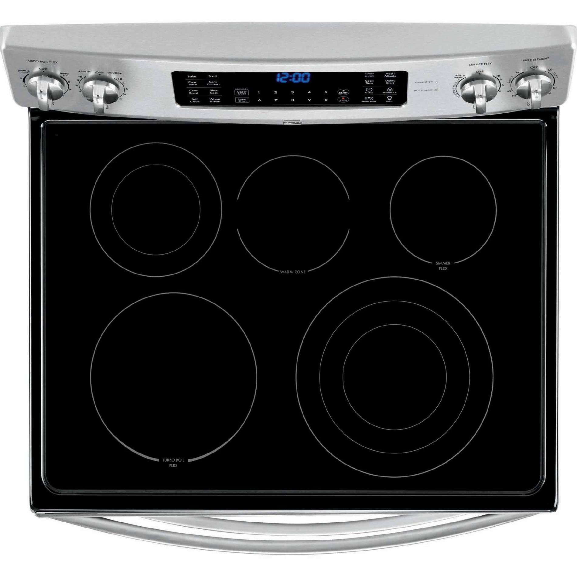 Kenmore Elite 97413 7.2 cu. ft. Double-Oven Electric Range w/ True Convection - Stainless