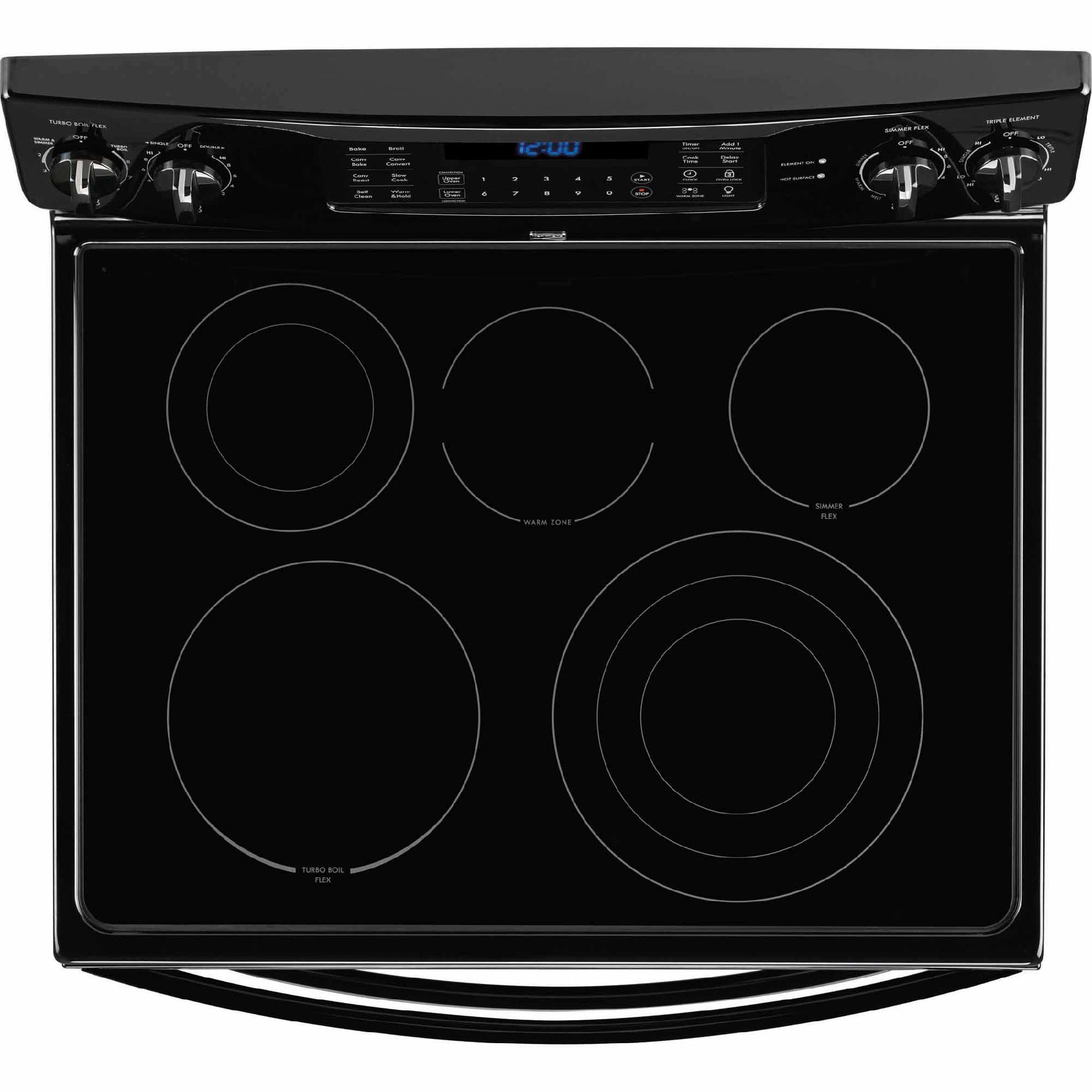 Kenmore Elite 97319 6.9 cu. ft. Double-Oven Electric Range w/ True Convection - Black
