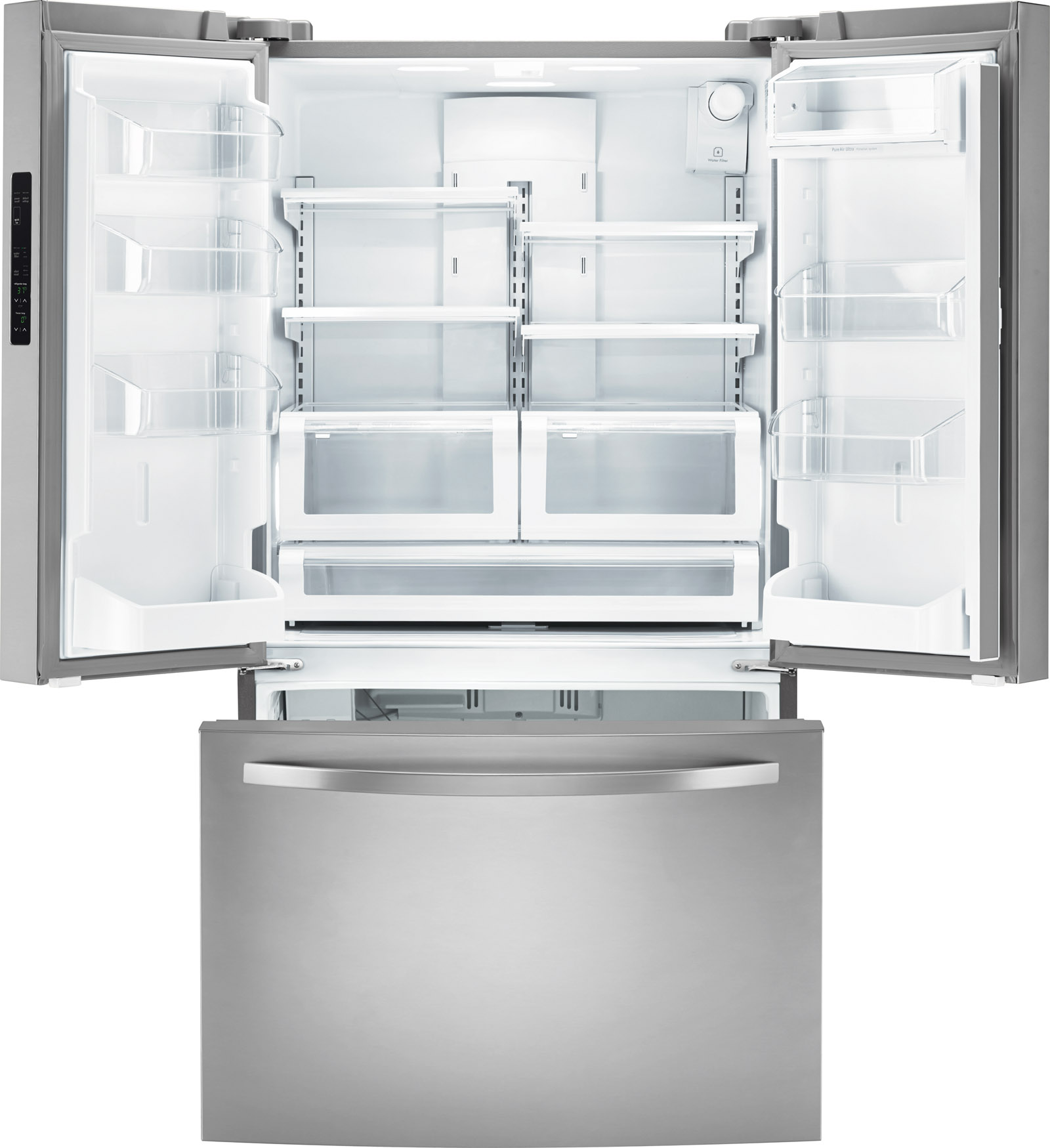Kenmore 70423 22.3 cu. ft. Counter-Depth French Door Refrigerator - Stainless Steel